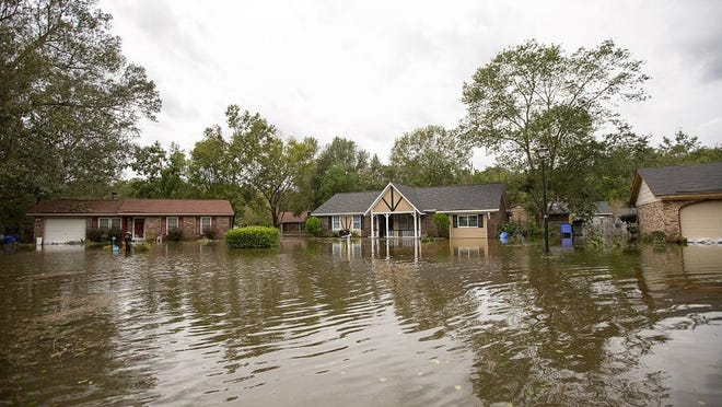 Hurricane Florence killed at least 43 people as it rampaged through the Carolinas and Virginia. The storm also inflicted property damage that could rise to $30 billion, according to a report from CoreLogic.