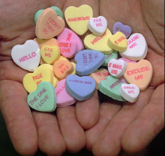 No Sweethearts candy this Valentine's Day after company goes out of business
