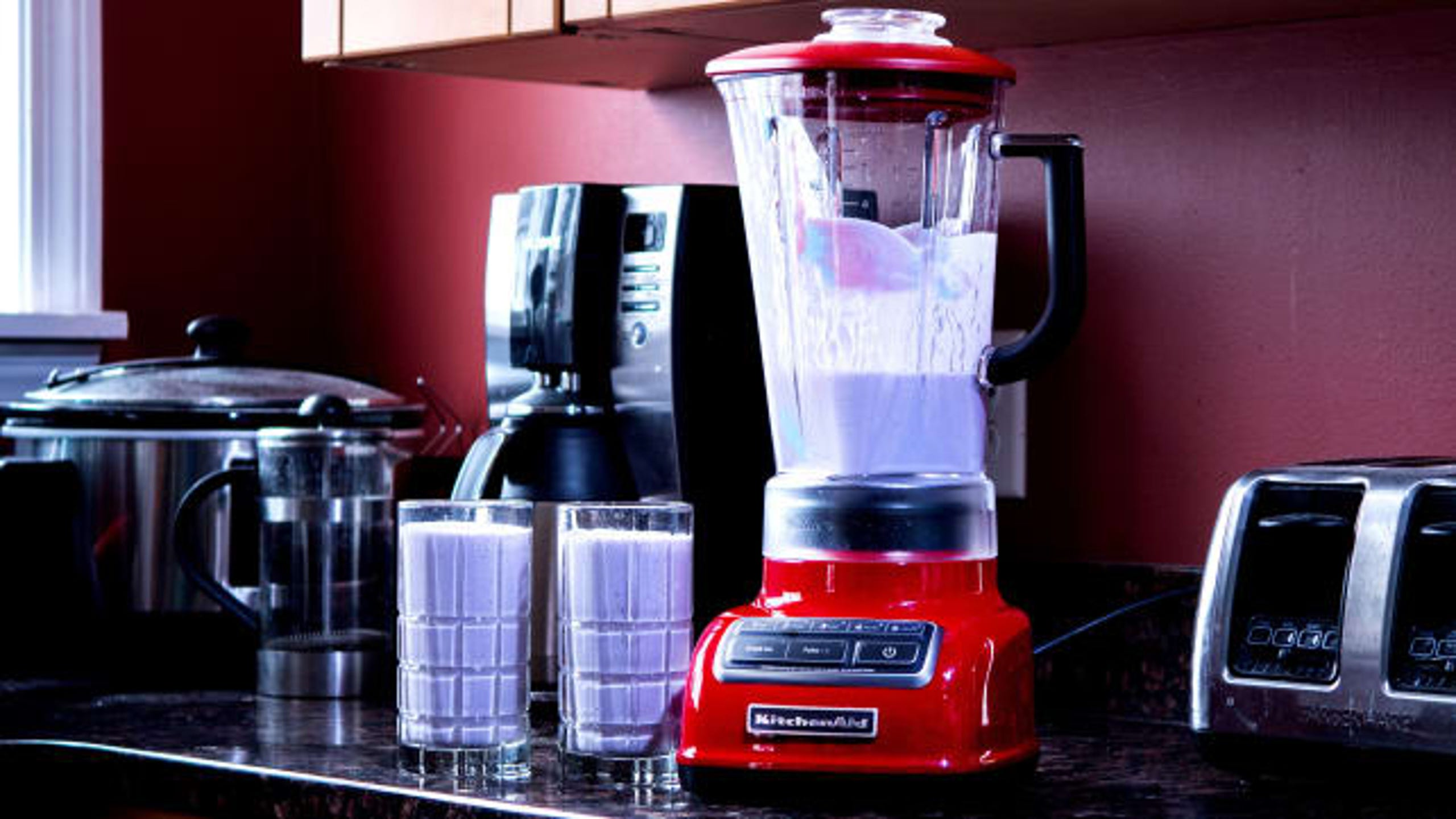 "Along with all the other annoying flu symptoms, loss of appetite can drain you of energy and make you feel incredibly worse for wear. While you may not be able to stomach eating some soup or crackers, a yummy smoothie can be easy to keep down and also give you the nutrients and vitamins you need to start feeling better. To whip one up, we recommend the the KitchenAid 5-Speed Diamond Blender, which is&nbsp;<a href=""https://www.reviewed.com/home-outdoors/best-right-now/the-best-affordable-blenders?utm_source=usat&amp;utm_medium=referral&amp;utm_campaign=collab"" target=""_blank"">the best affordable blender</a>&nbsp;we've ever tried, as it can crush ice, and blend fruits and veggies like a breeze. (<strong><a href=""https://www.amazon.com/KitchenAid-KSB1575ER-5-Speed-60-Ounce-BPA-Free/dp/B00CGSES9I/ref=as_li_ss_tl?ie=UTF8&amp;linkCode=ll1&amp;tag=usatgallery-20&amp;linkId=c254e5f2bbcfa90fff46946091eb352c&amp;language=en_US"" target=""_blank"">$104.99 on Amazon</a></strong>)"