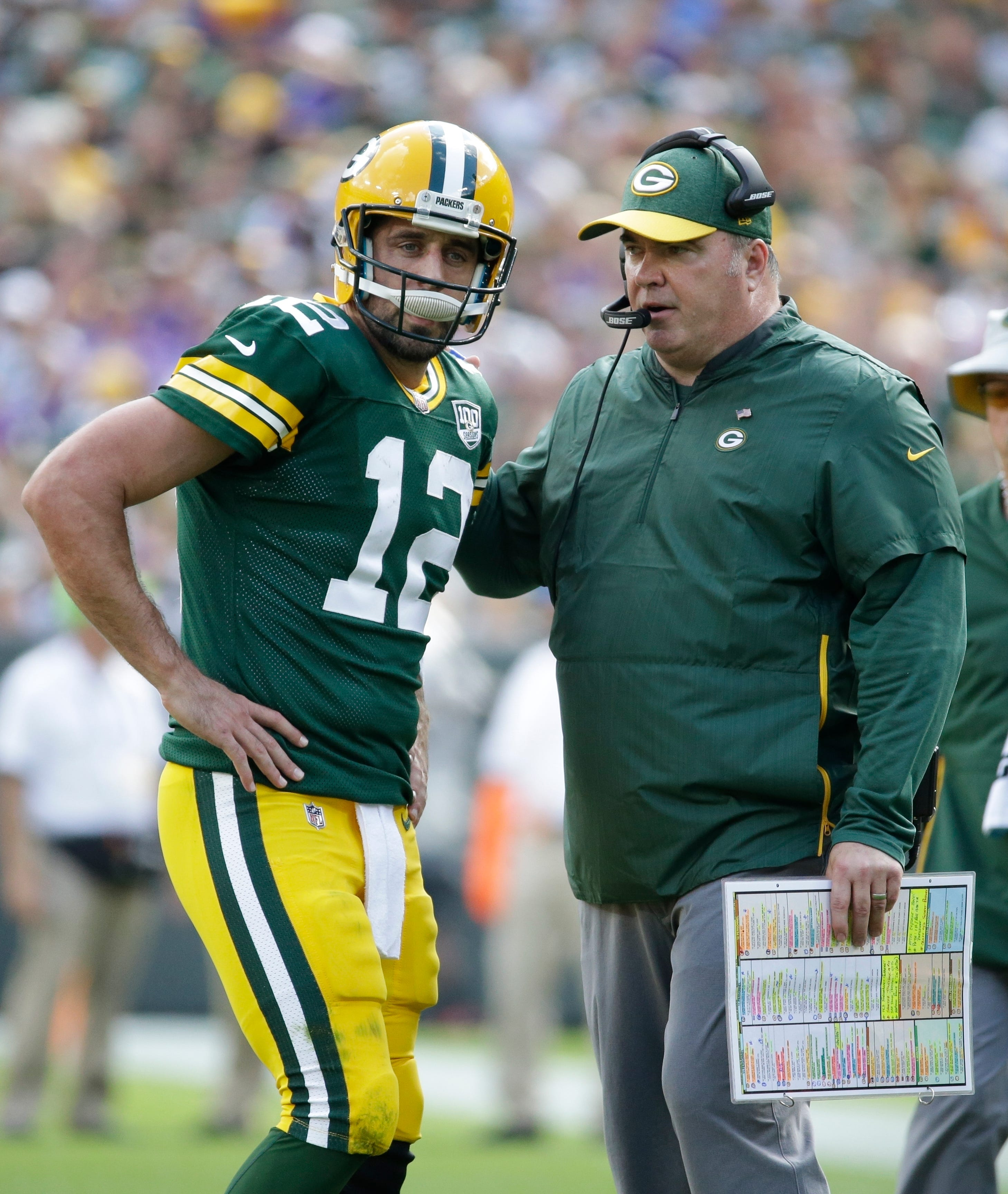 Rodgers, McCarthy moving forward to get Packers going