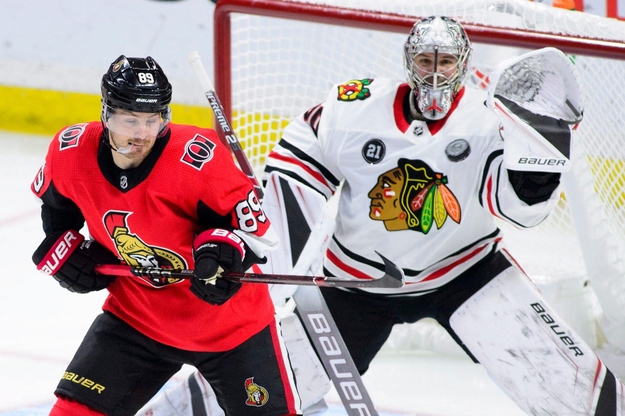 Kane scores in overtime, Blackhawks beat Senators 4-3