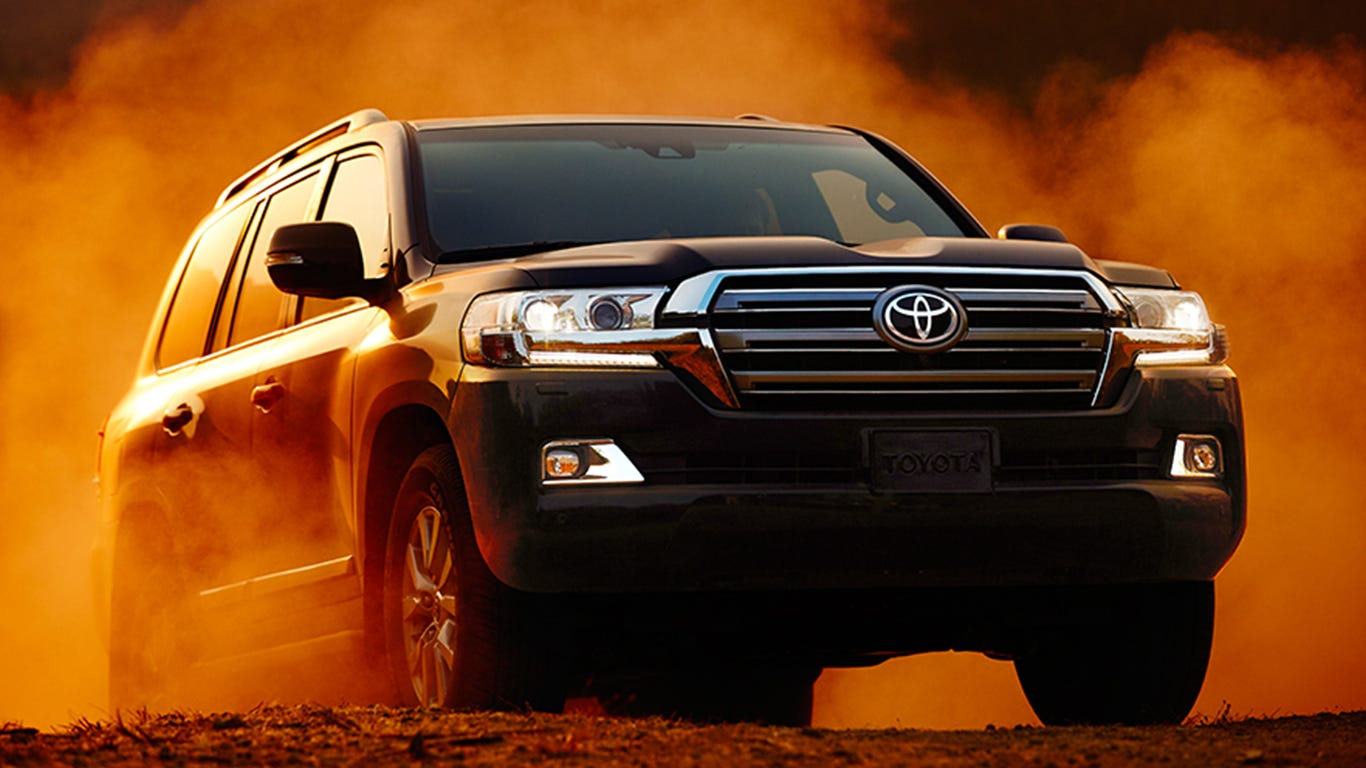Automakers Toyota, Mercedes and BMW top list of world's most valuable car brands