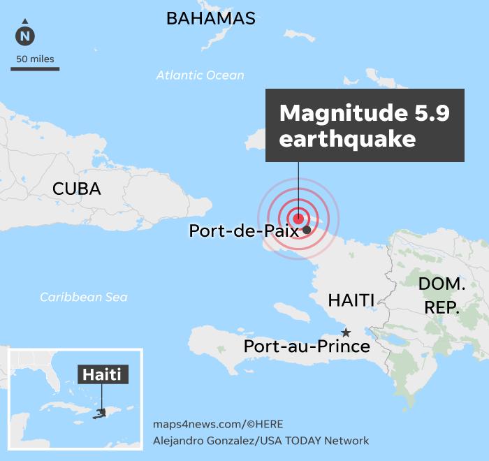 Haiti Earthquake Death Toll Rises After Magnitude 5 9 Temblor
