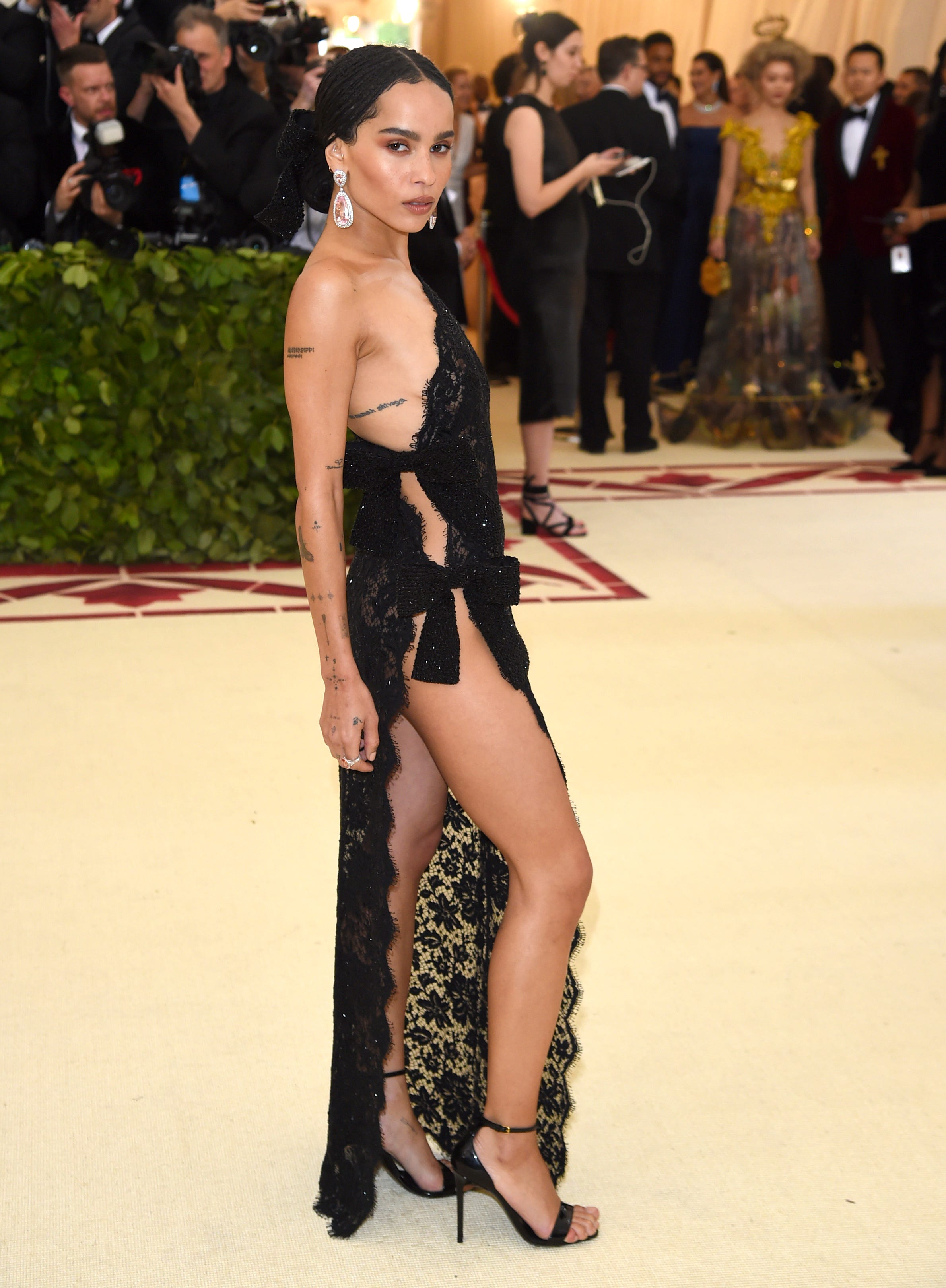 Zoe Kravitz says a director sexually harassed her when she was 19, reveals she's engaged