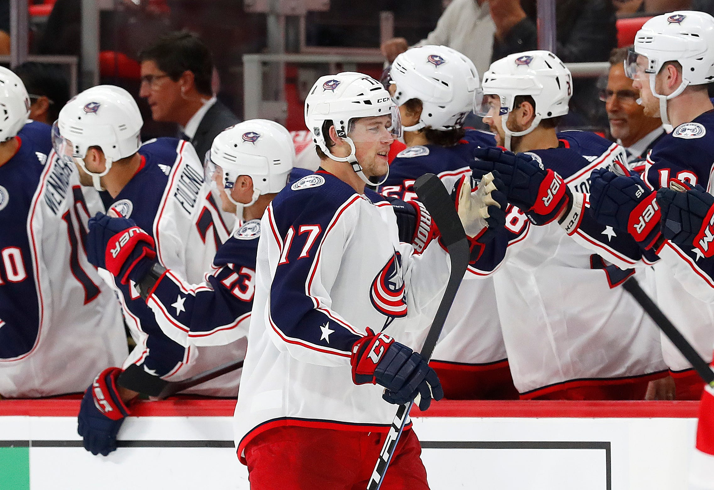 Blue Jackets' Dubinsky out 4-6 weeks with strained oblique