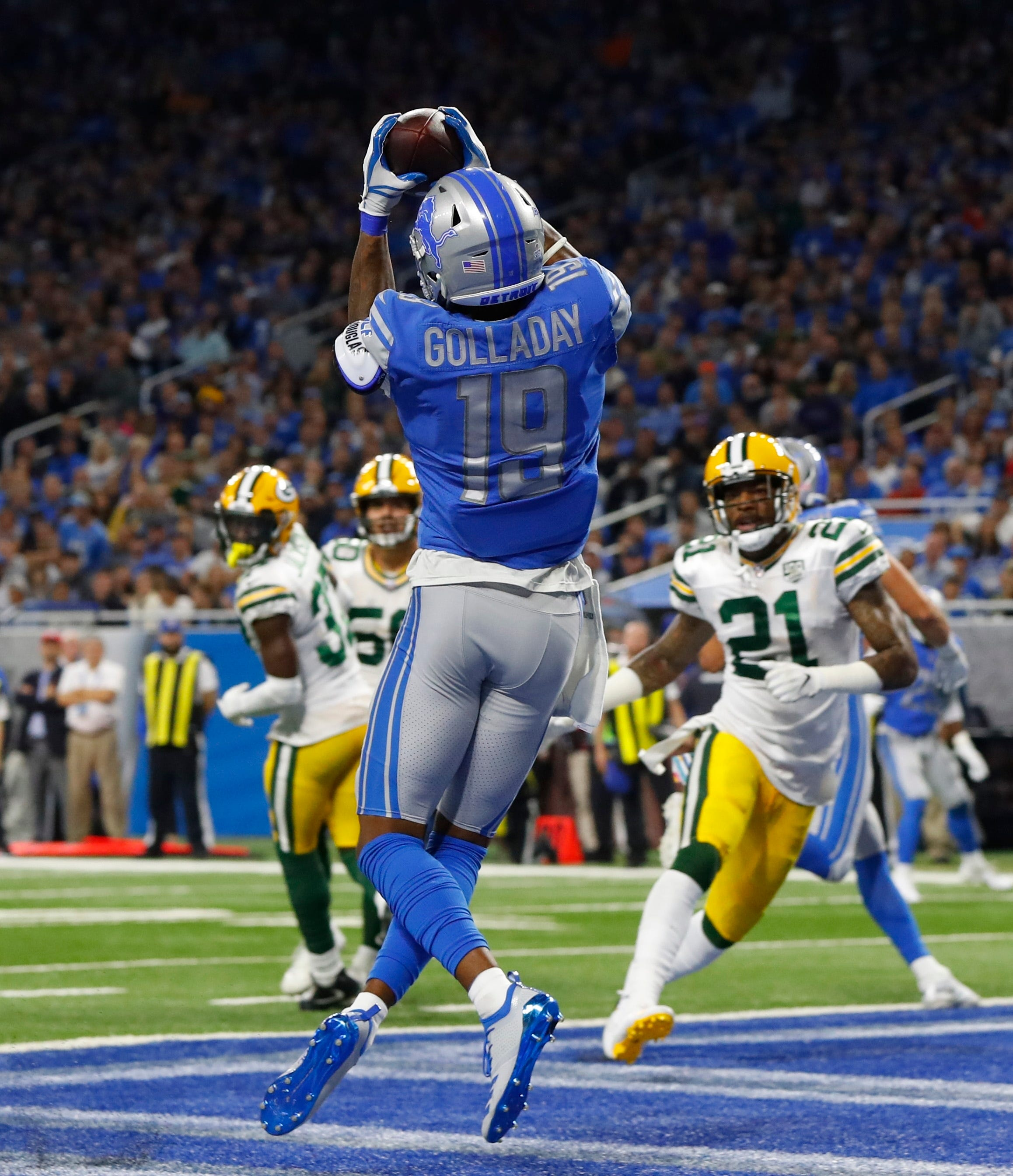 Golladay gives Detroit another impressive receiving threat