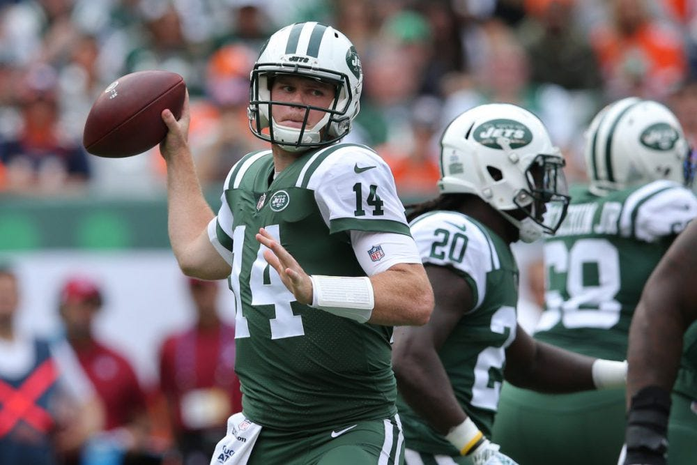 Can NY Jets rookie Sam Darnold follow Carson Wentz's lead? Colts coach sees a comparison