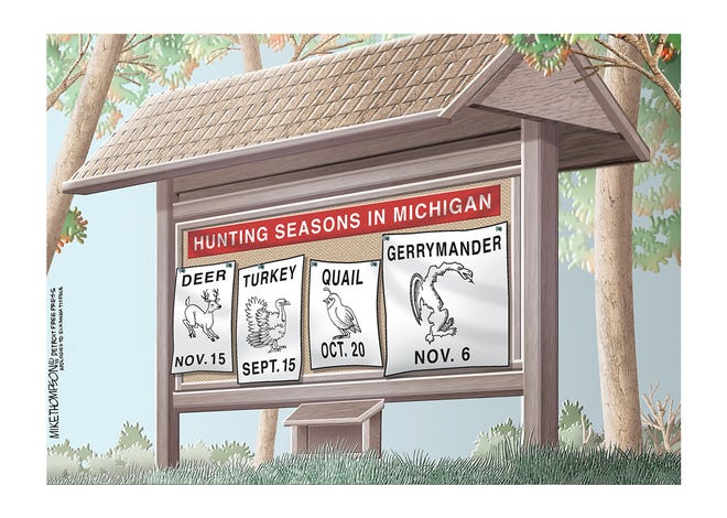 Michigan voters have a chance to slay the gerrymander monster on Nov. 6.