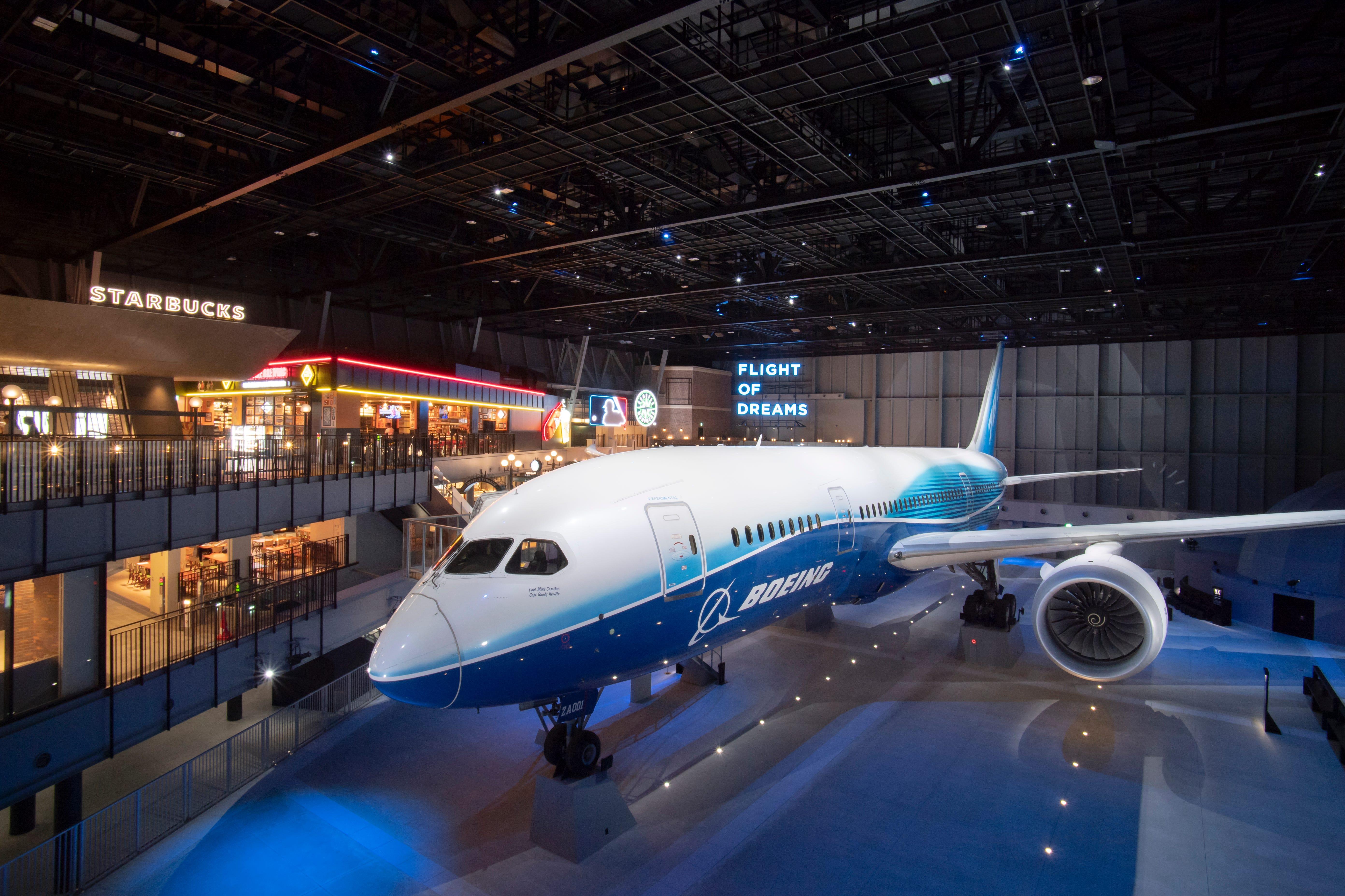 Boeing 787-8 Dreamliner stars in Flight of Dreams attraction in Japan