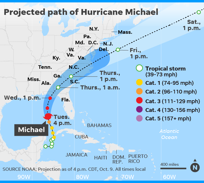 Hurricane Michael Targets Florida S Most Vulnerable