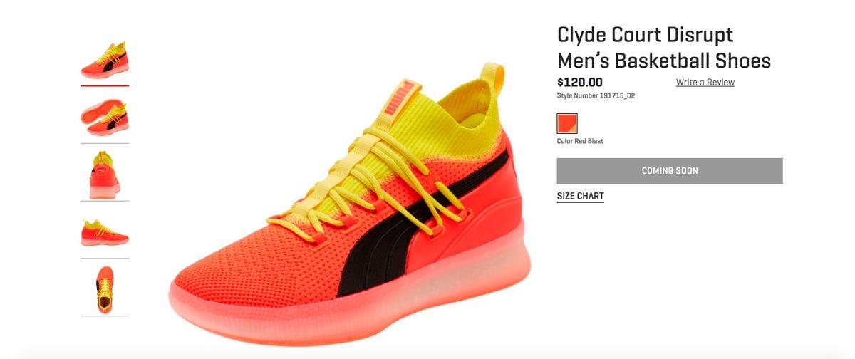 timeless design 06104 34e85 NBA preseason: Deandre Ayton debuted his Puma sneakers