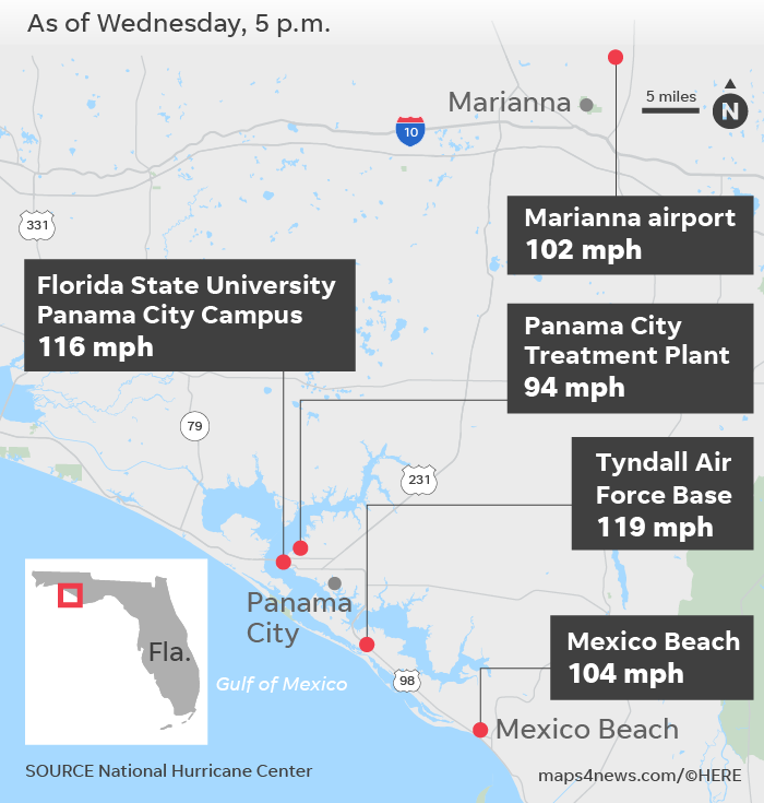 Michael blasted Tyndall Air Force Base in Florida — a key to homeland security