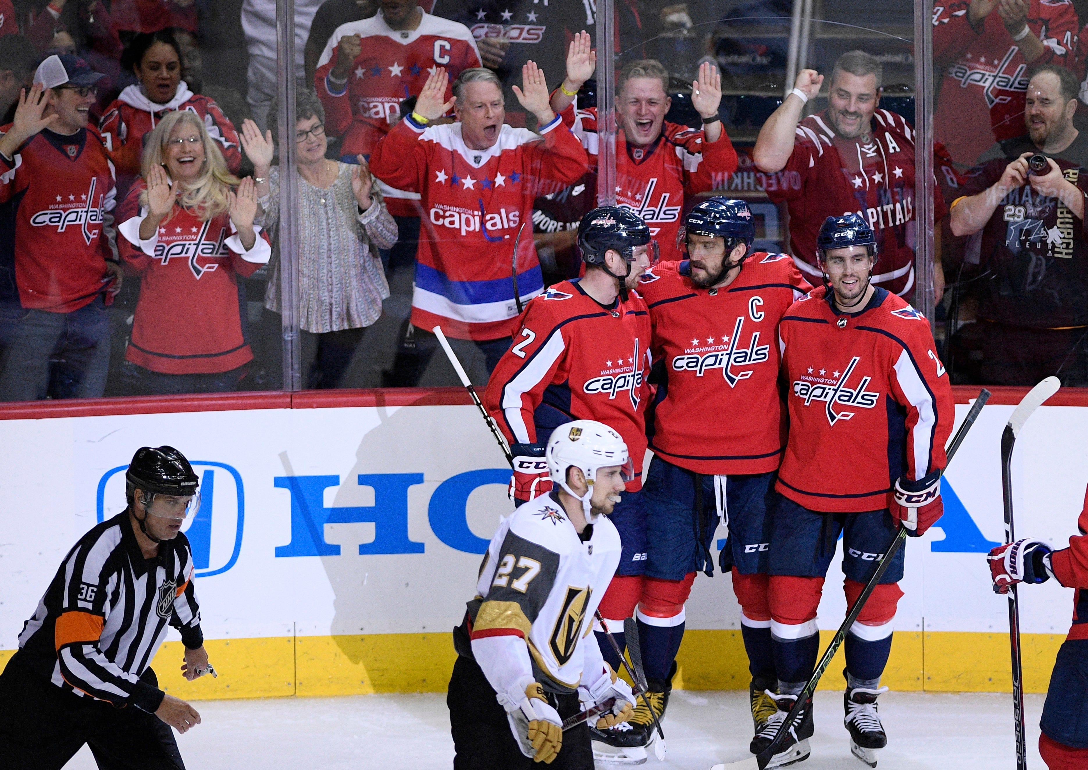Evgeny Kuznetsov's four-point night helps Capitals beat Golden Knights