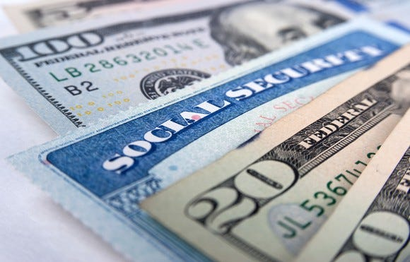 Social Security cost-of-living adjustment will raise benefits 2.8% in 2019