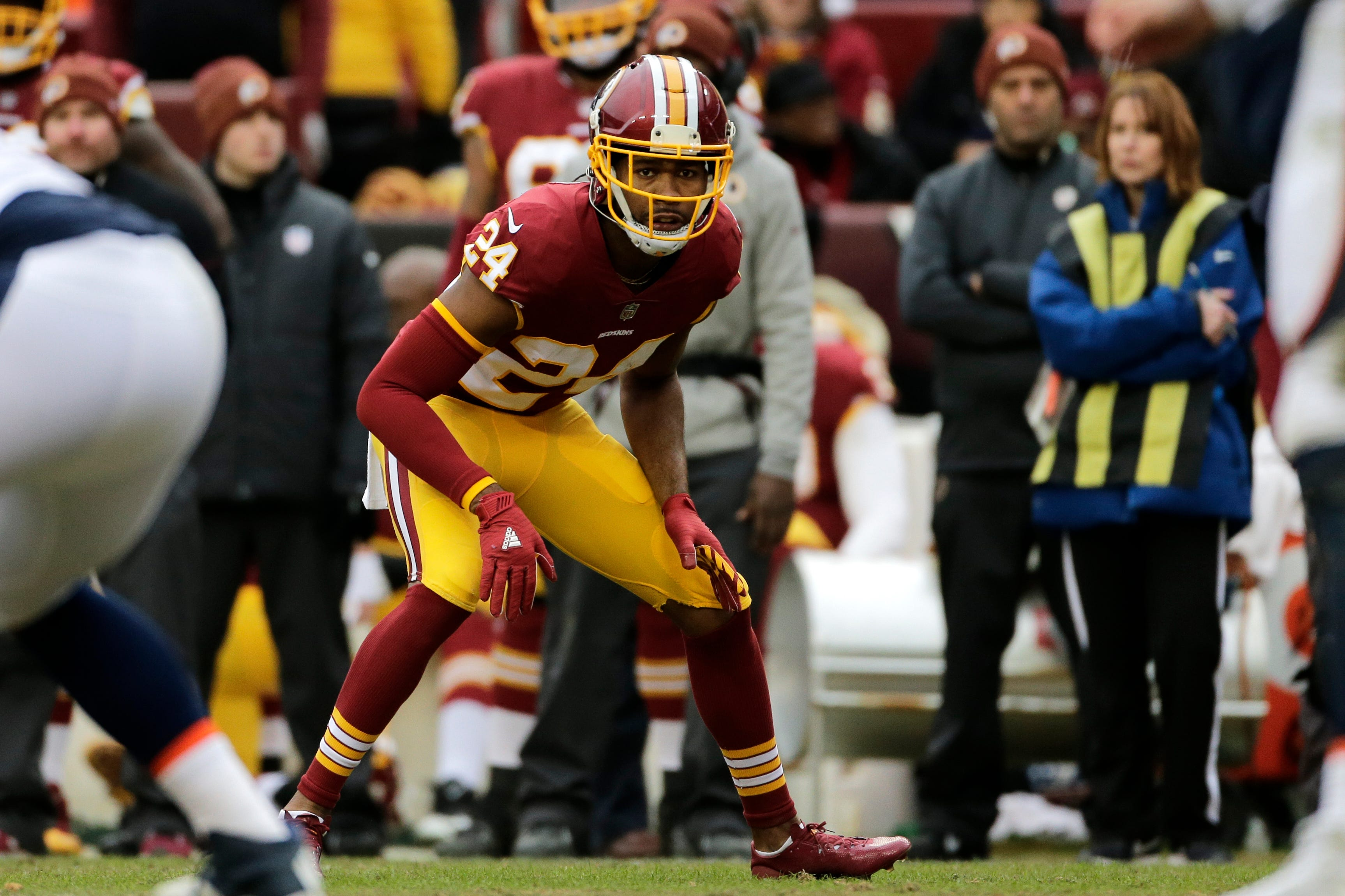 What a week for Josh Norman, whose Redskins take on Panthers