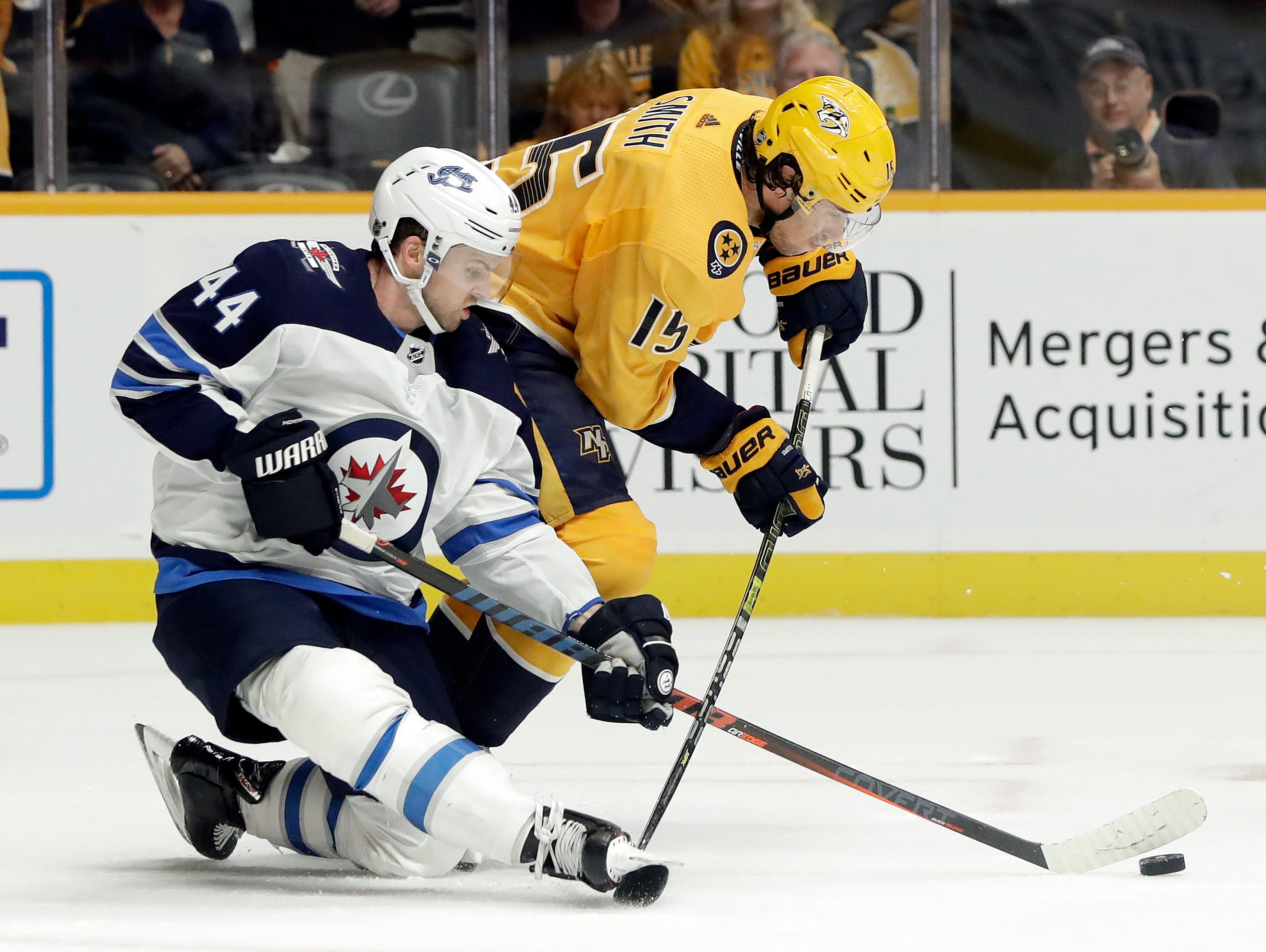 Rinne leads Predators over Jets 3-0