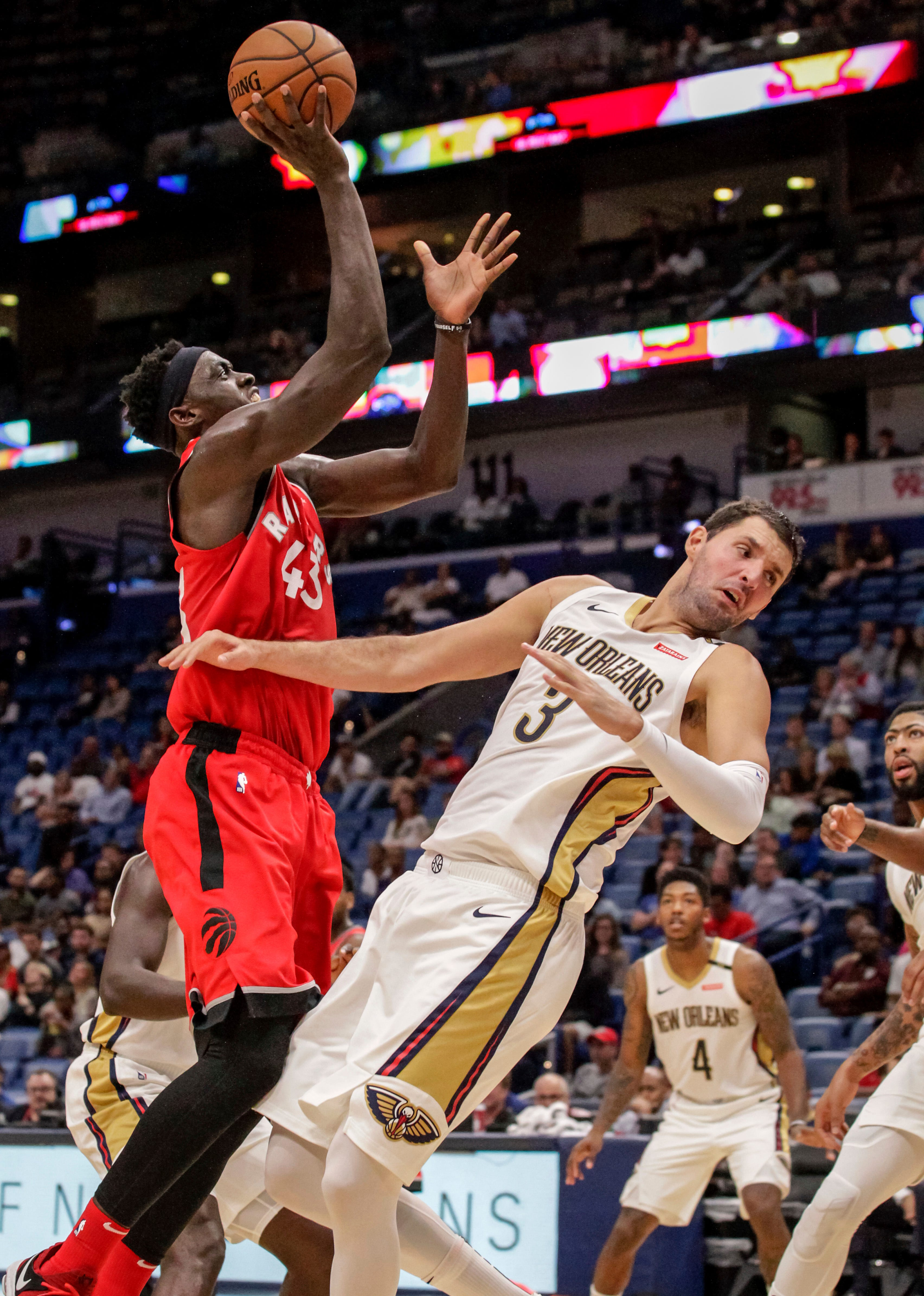 Raptors rest Leonard among others, beat Pelicans 134-119