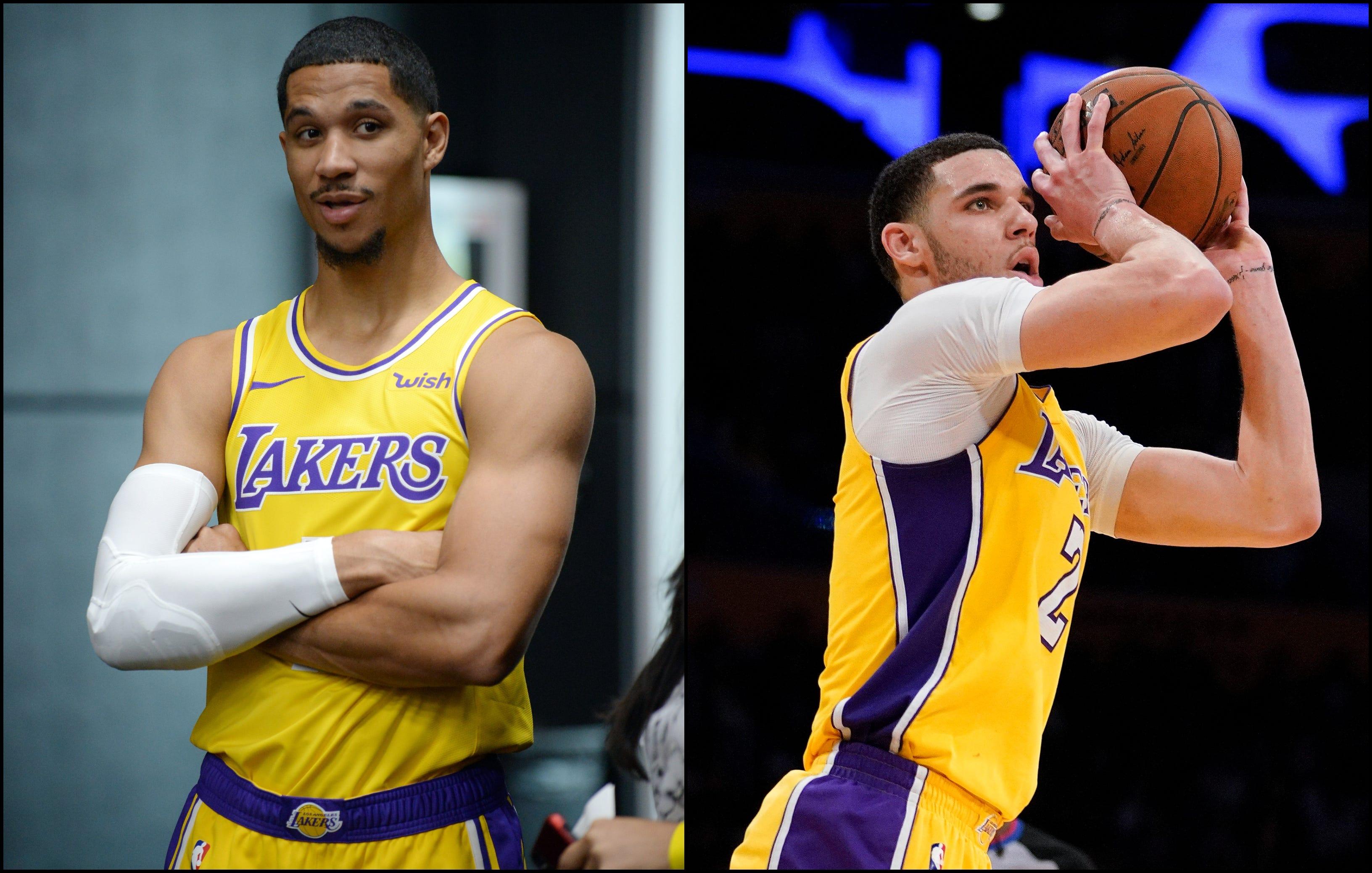 Lakers: Josh Hart mocks Lonzo Ball's airballed 3-pointer