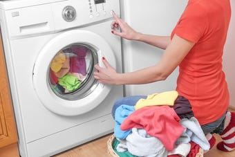 Have you ever wondered what else your washing machine can clean?  Here's 5 common household items that definitely can use a rinse cycle!