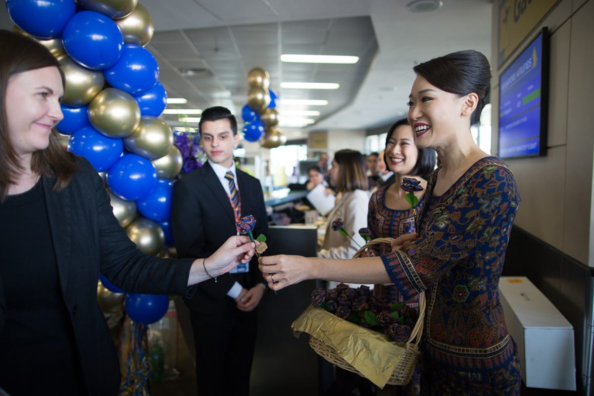 Singapore Airlines: World\'s longest flight takes off (again) from NYC