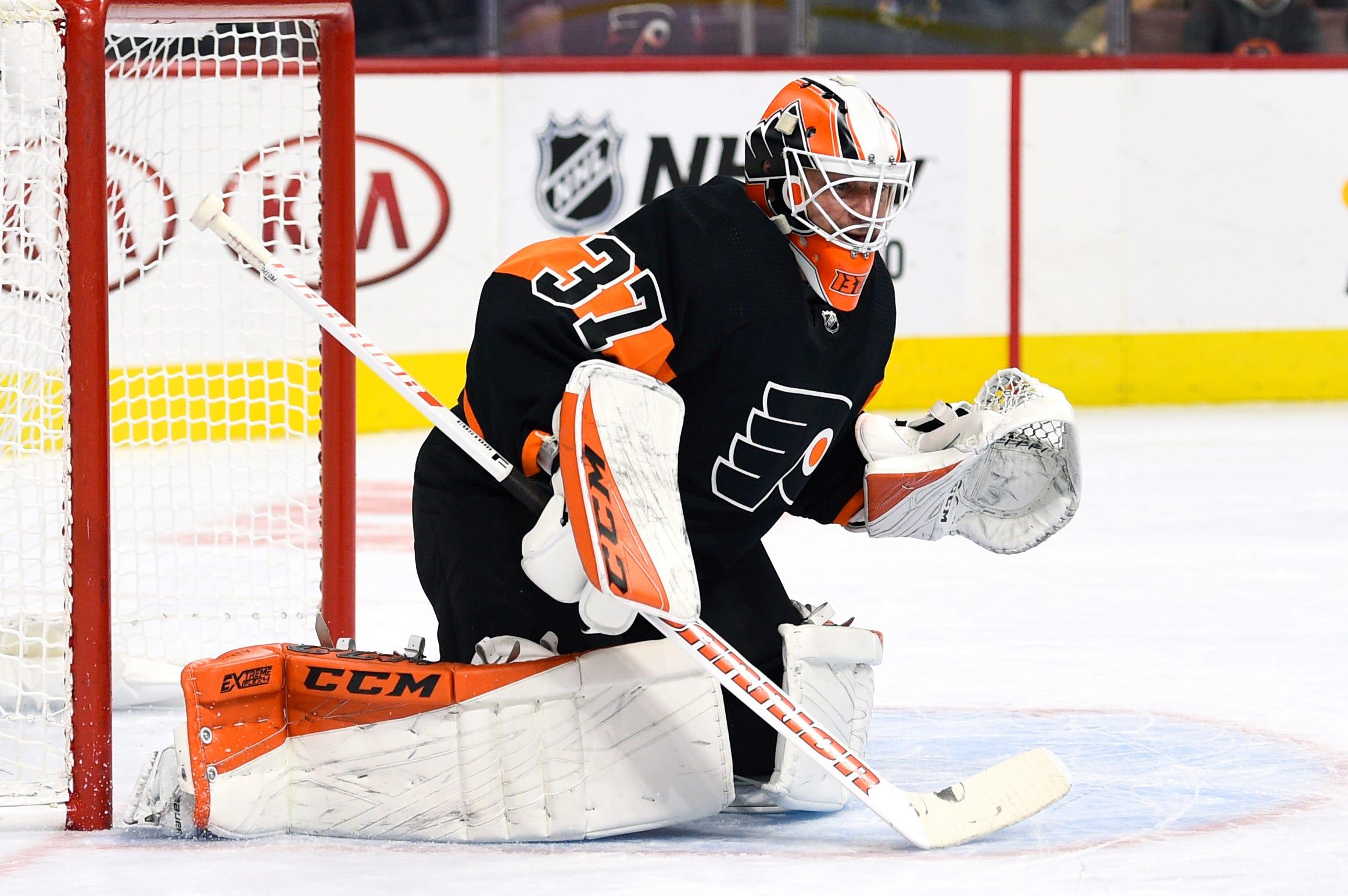Eakin scores, Fleury shutout in Vegas' 1-0 win vs Flyers