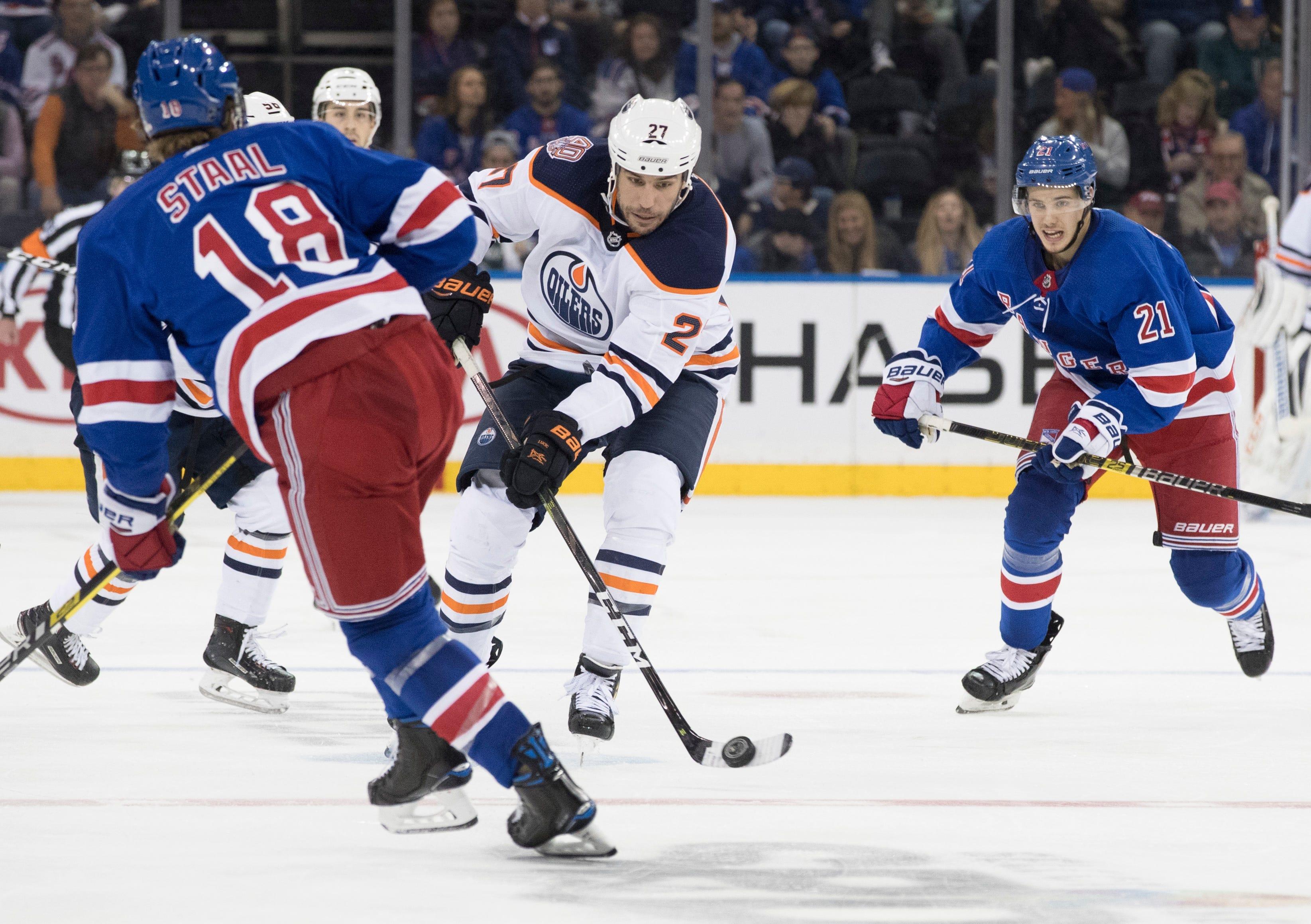 McDavid scores on power play, Oilers edge Rangers 2-1