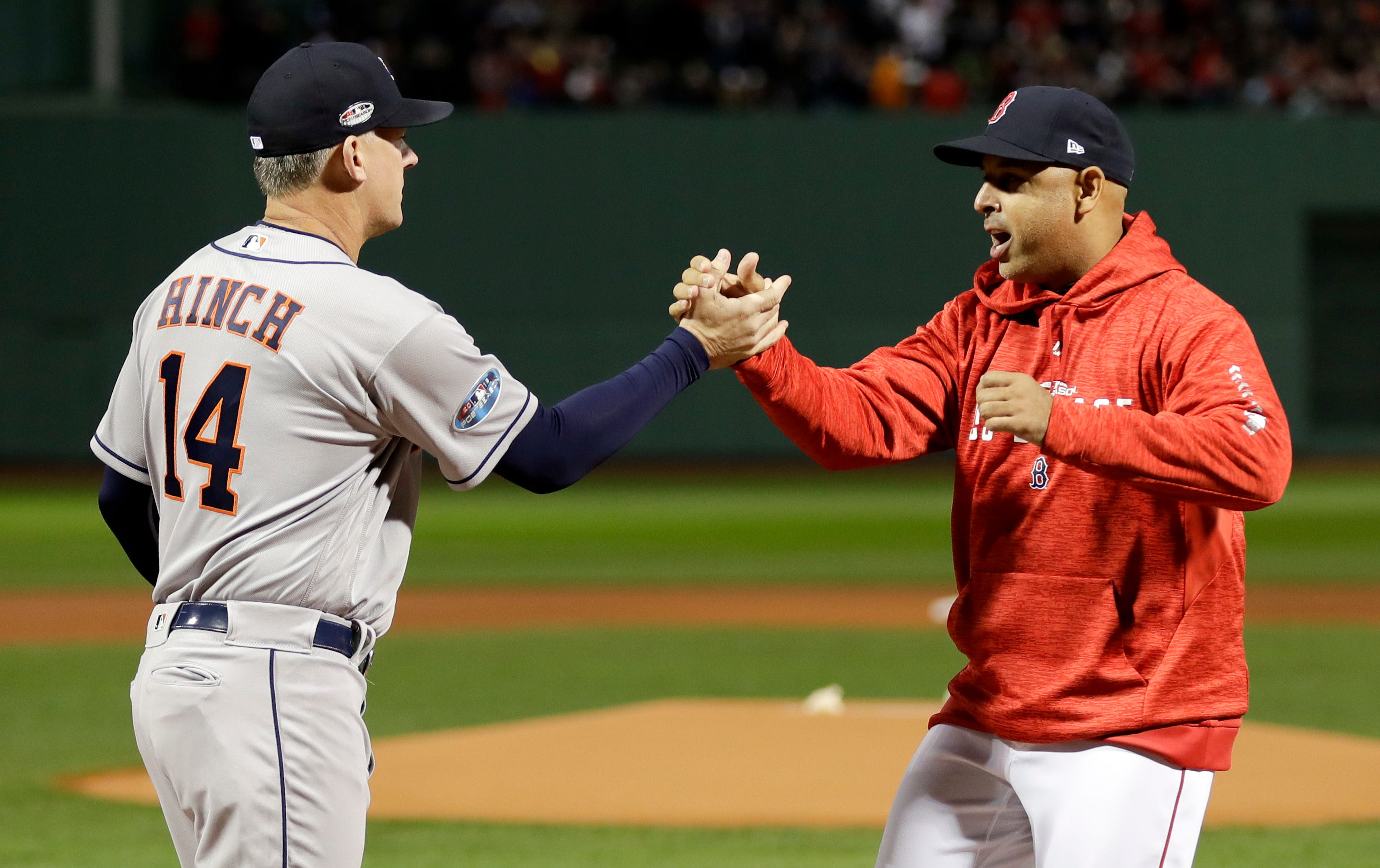Tigers considering A.J. Hinch and Alex Cora, both suspended after cheating scandal
