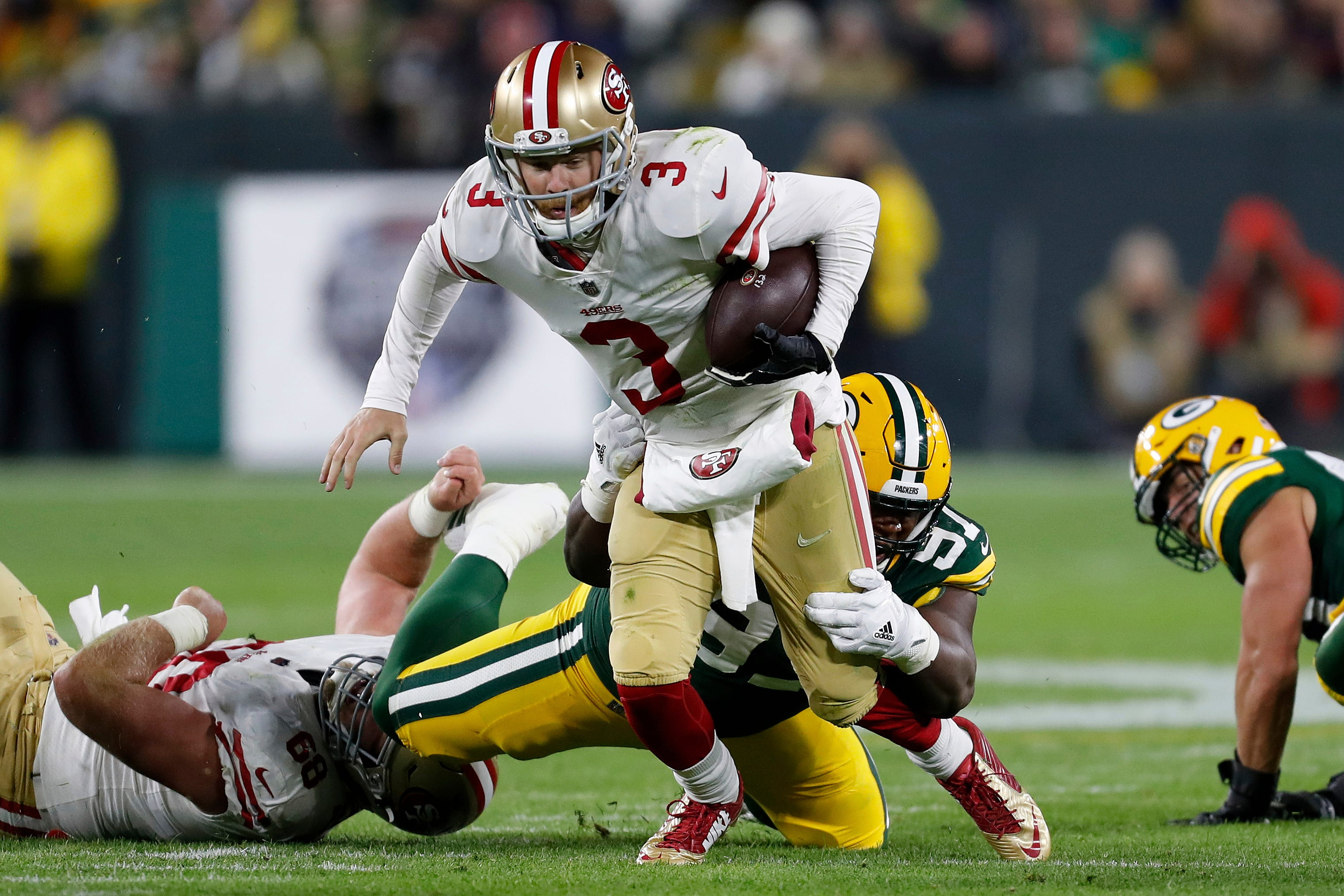 49ers have little time to dwell on Packers loss with LA next