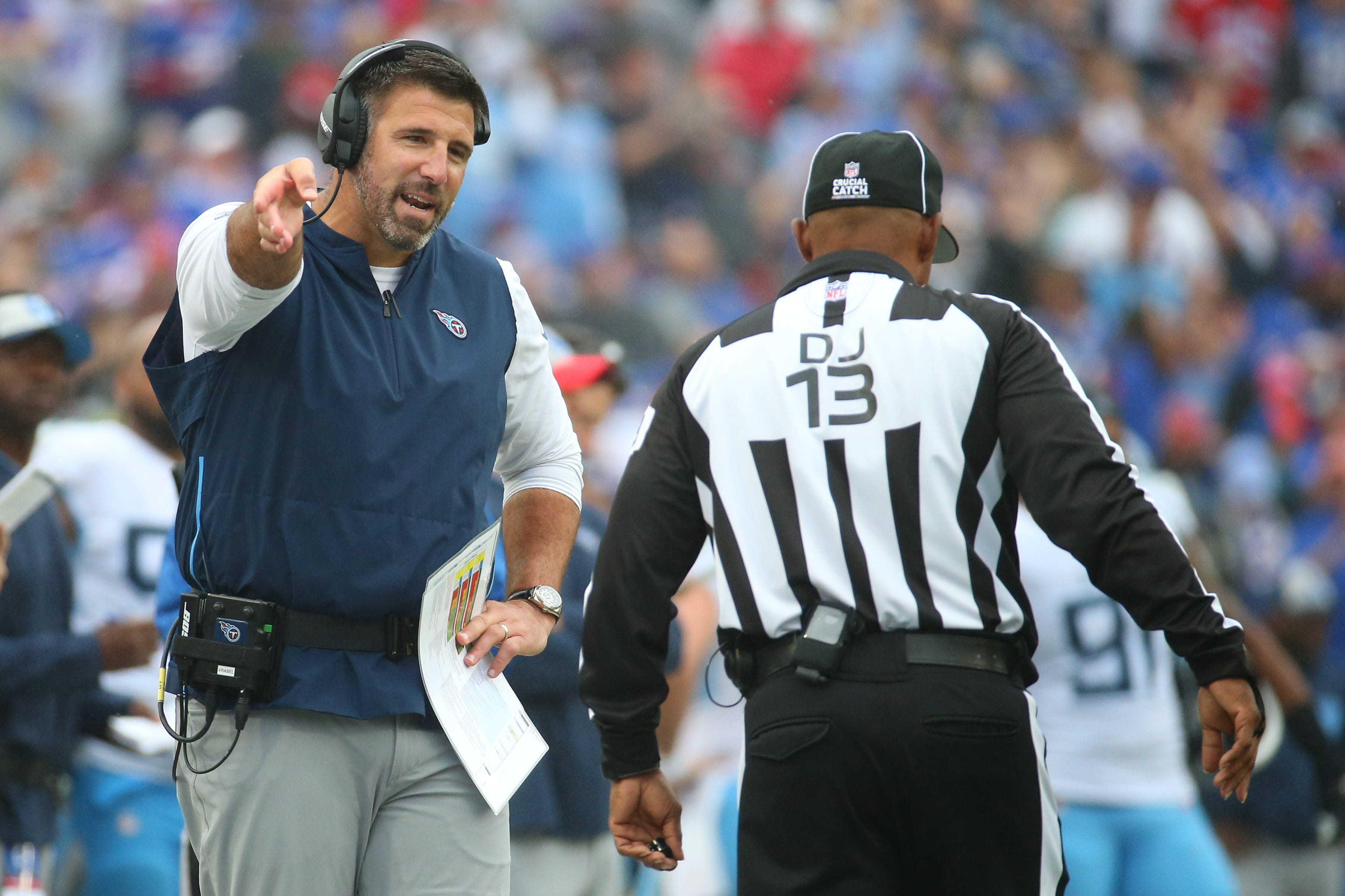 Is Titans coach Mike Vrabel in over his head?