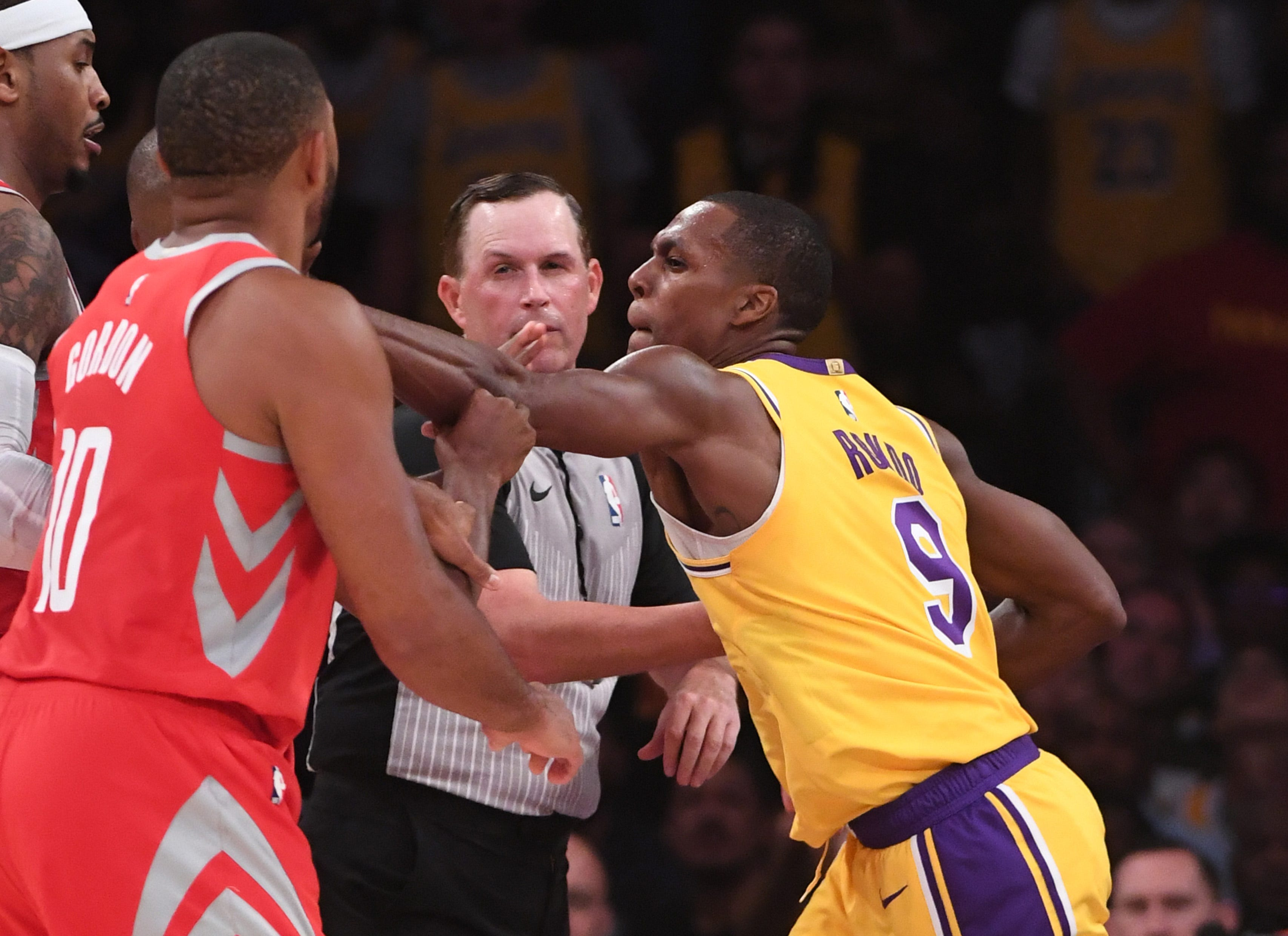 Rajon Rondo on Chris Paul: 'They don't know he's a horrible teammate'