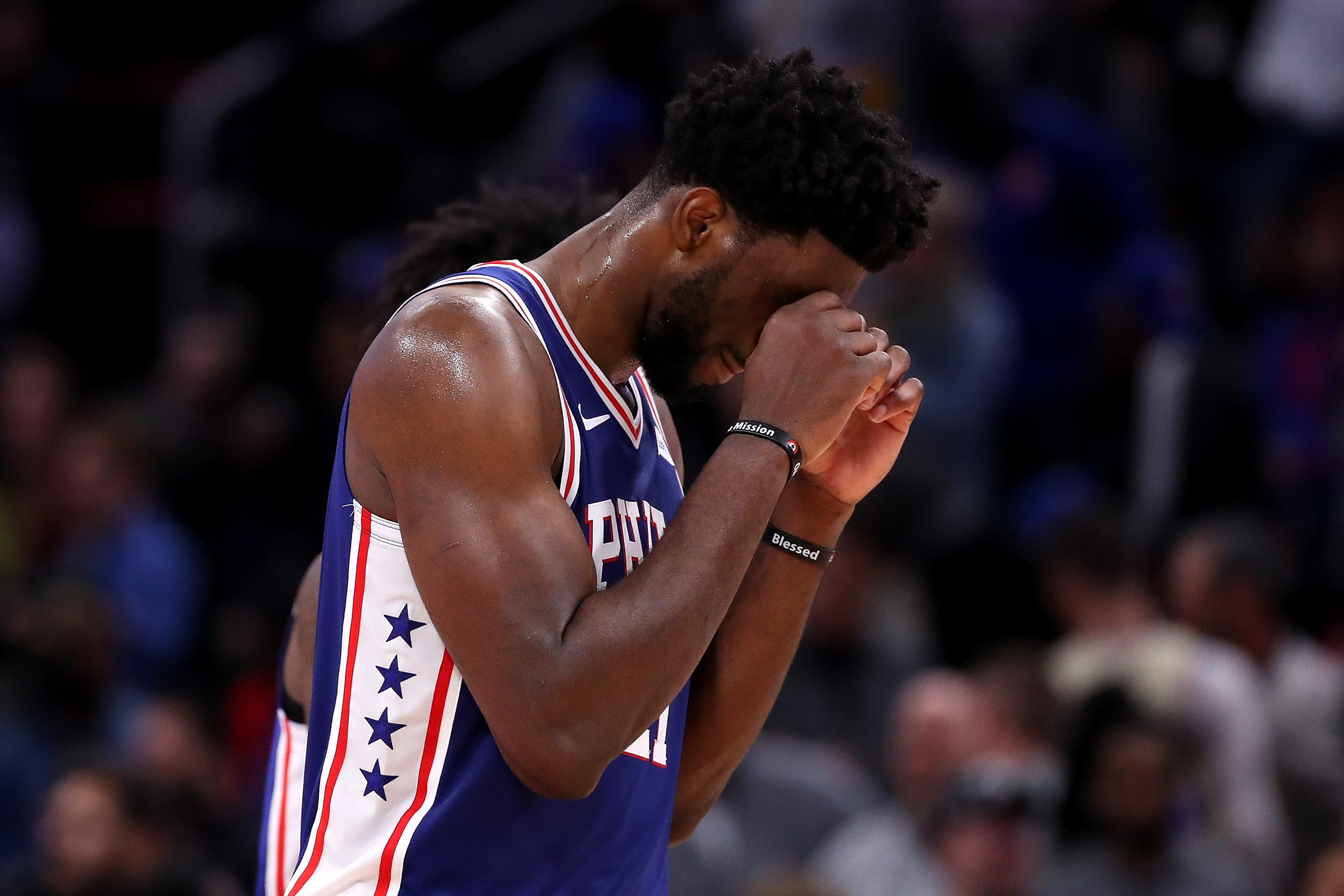Did Embiid talk refs into ejecting Drummond?