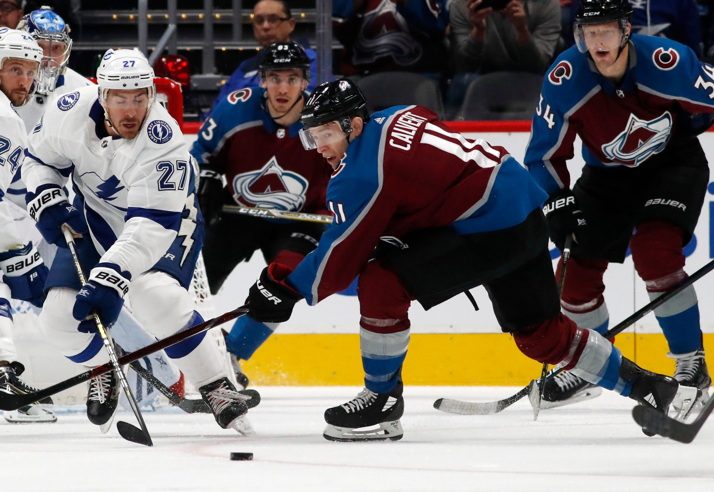 Kucherov's goal lifts Lightning to 1-0 win over Avalanche