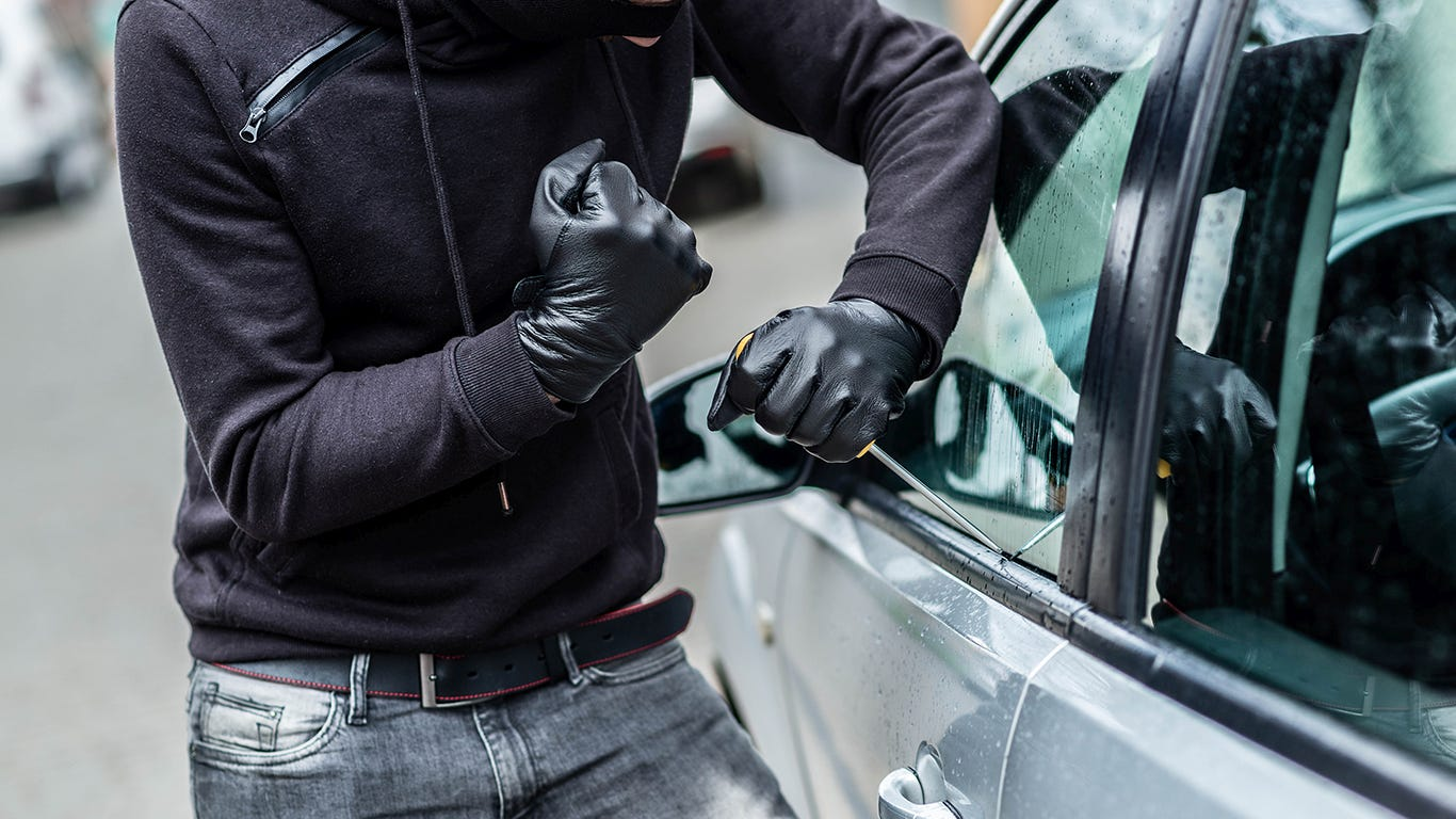 Where your car is most likely to be stolen in every state