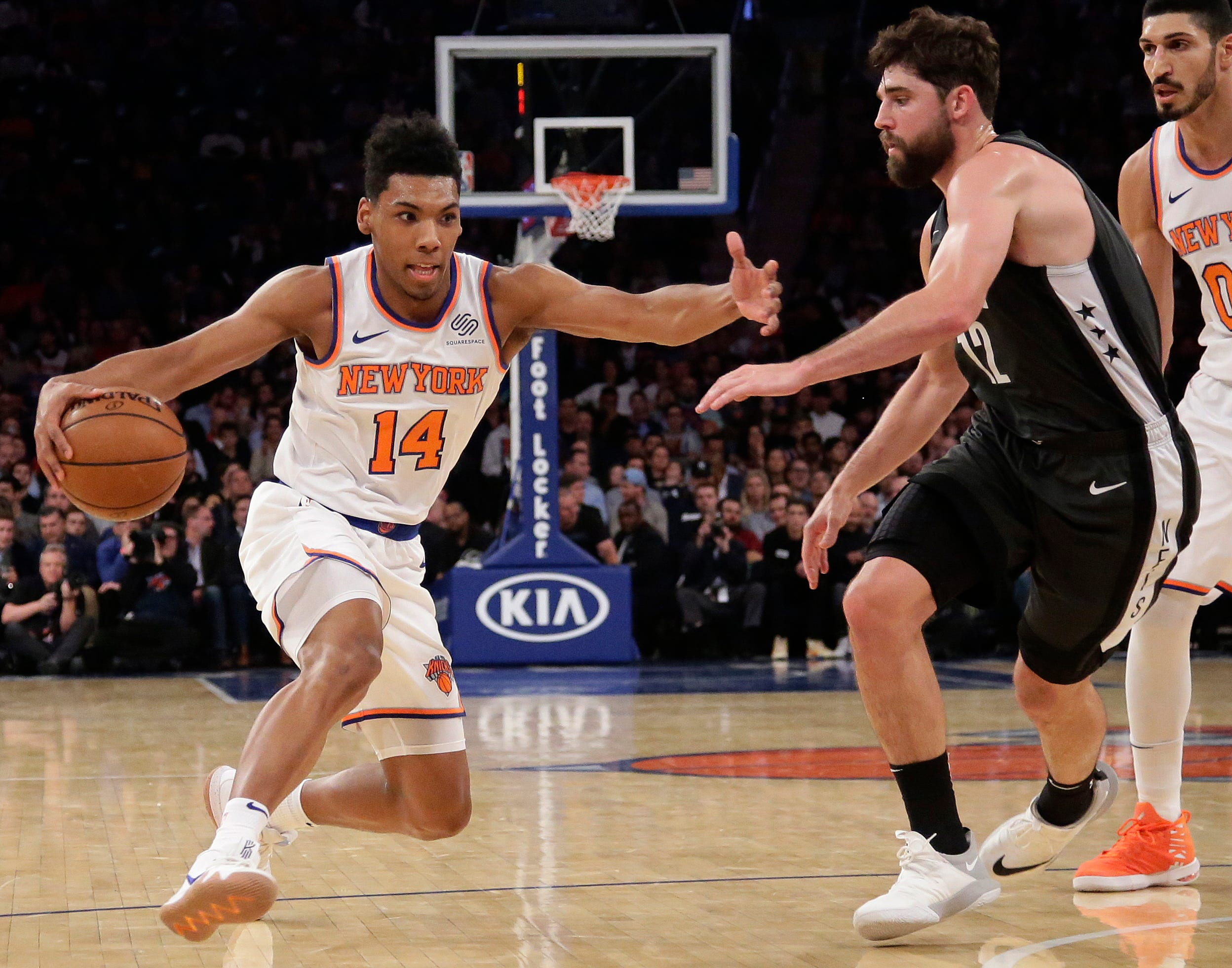 Knicks rout Nets 115-96, end five-game skid