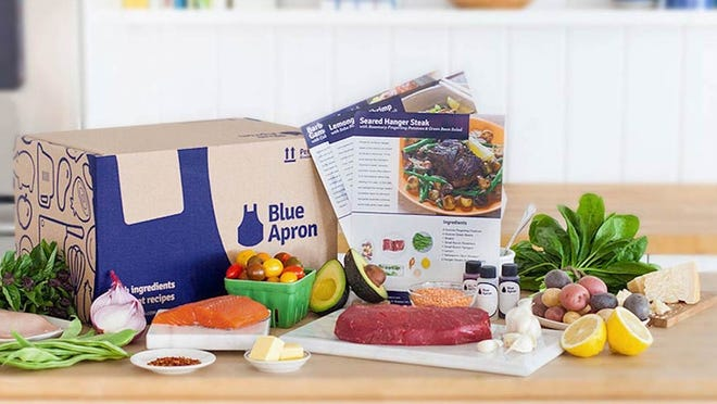 Blue Apron shares bounced early on Monday after the firm announced a critical partnership with renowned e-retailer Jet.
