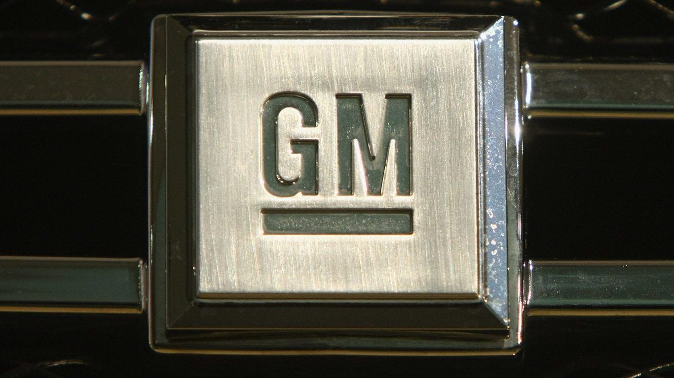 GM will shed factories and workers