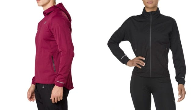 Best gifts for runners 2018 Asics accelerate rain jacket