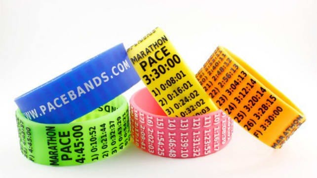 Best gifts for runners 2018 pace bands
