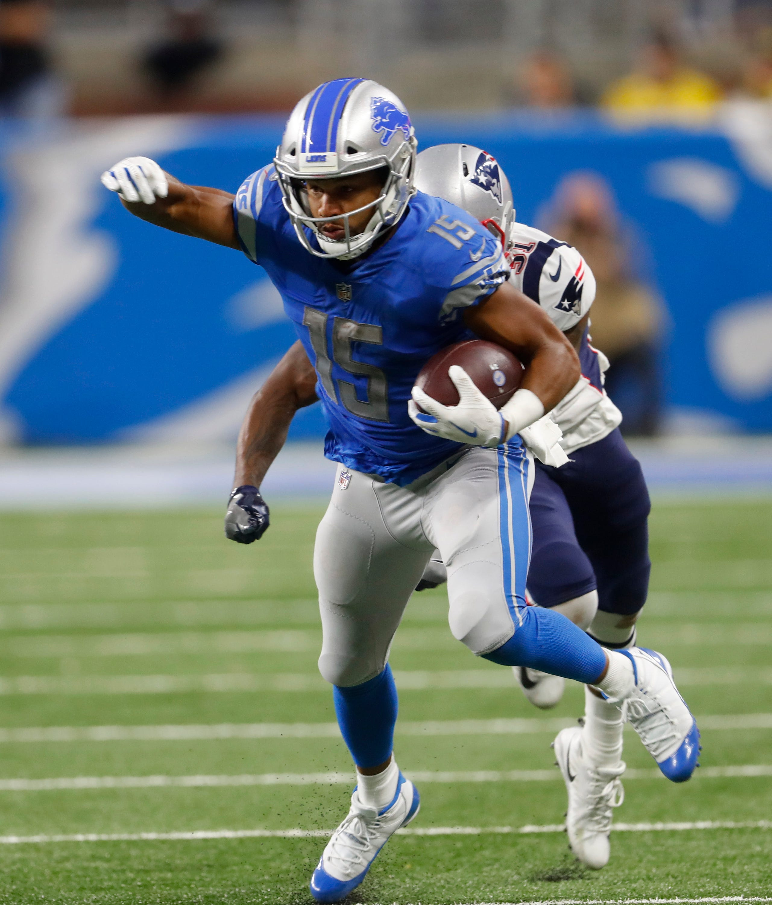Lions moving on without Tate after trade to Eagles