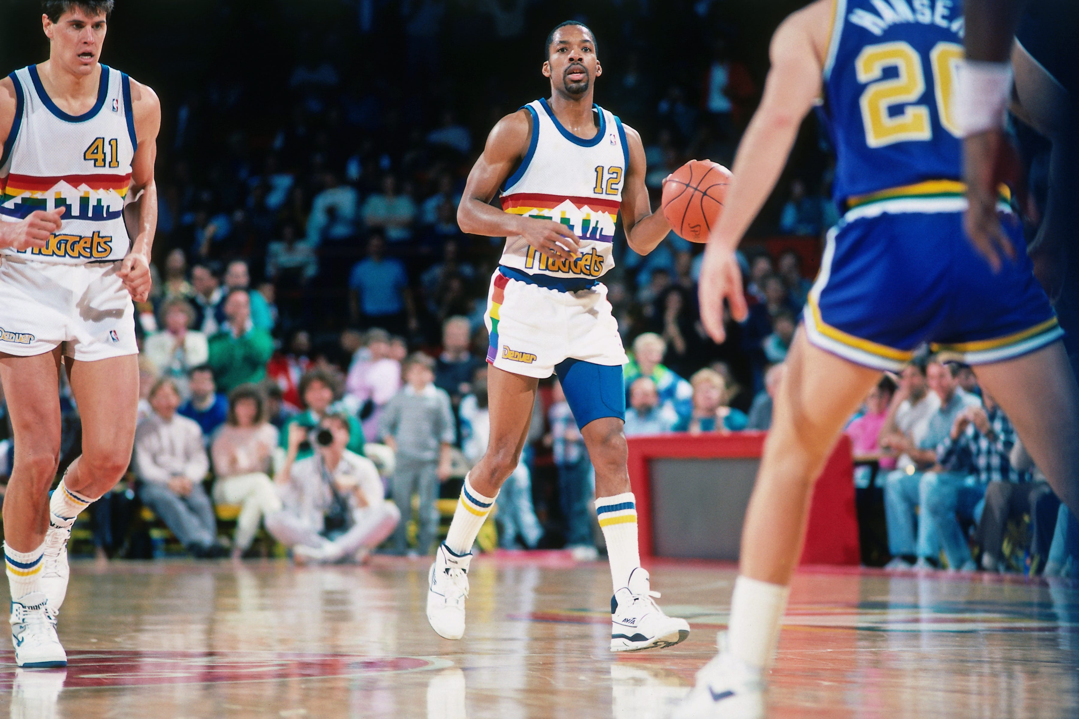 Nuggets bringing back awesome old uniforms - NBA twitter top10 news ... 4d01ad85d
