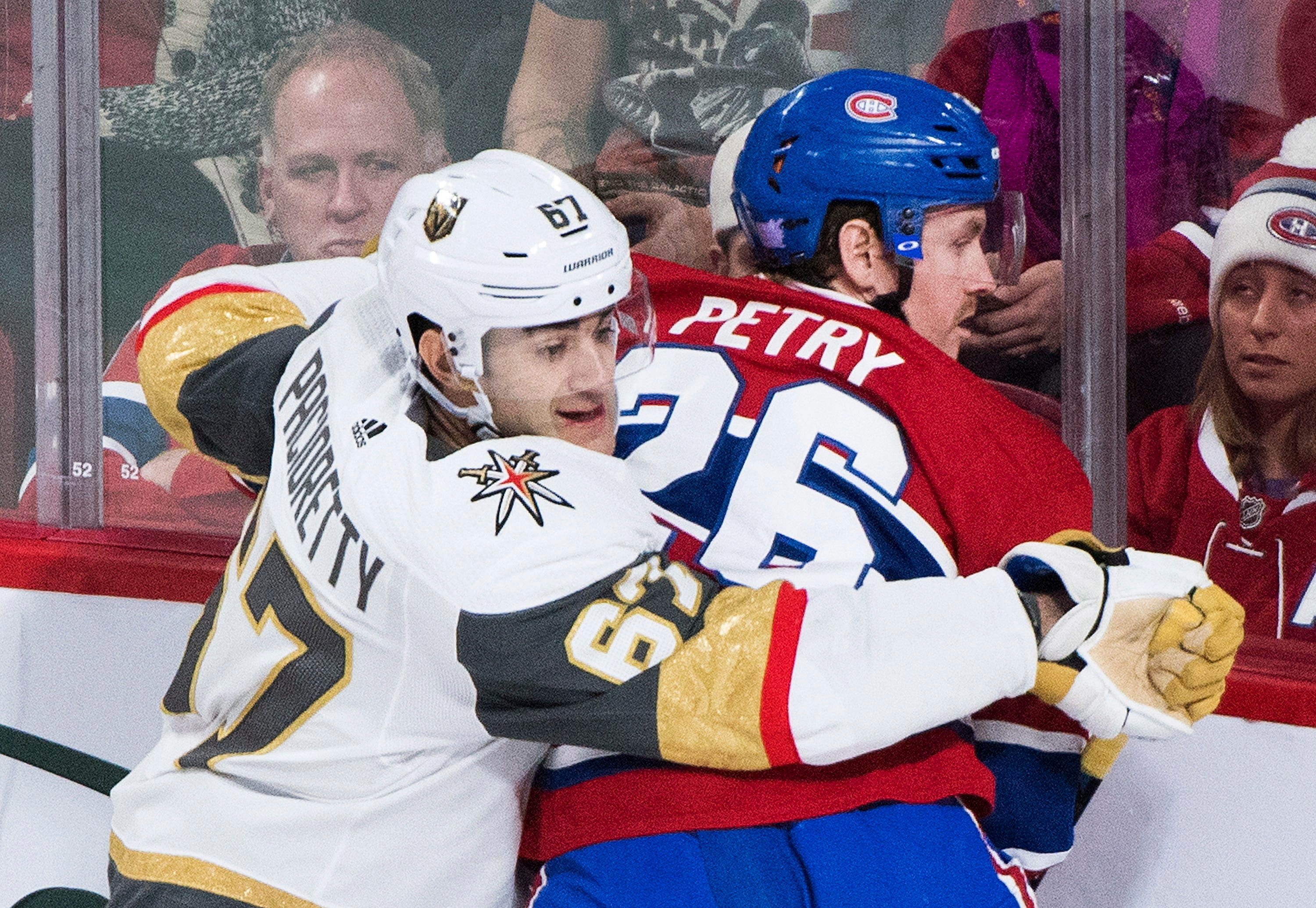 Canadiens beat Golden Knights to spoil Pacioretty's return