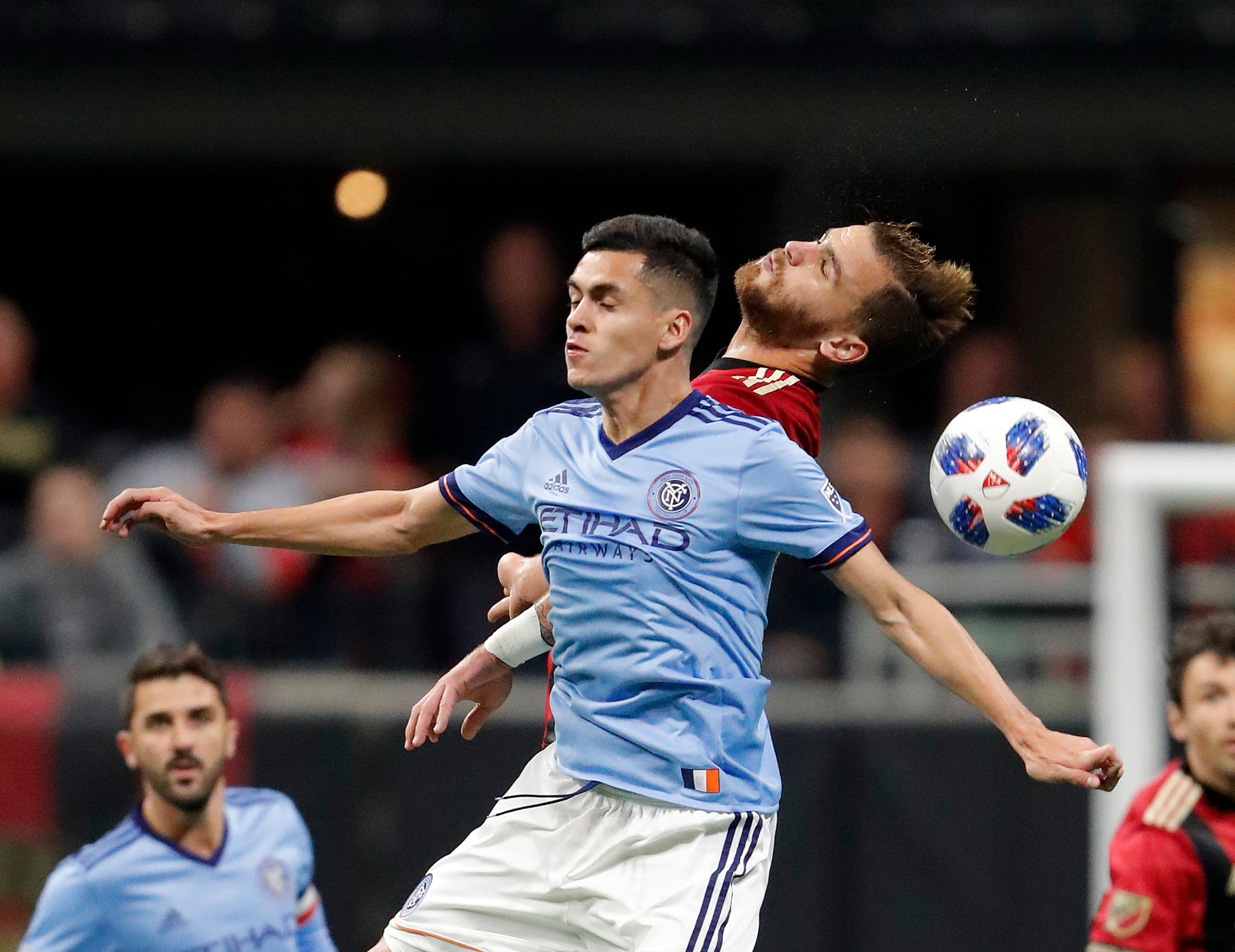 Martinez scores twice, Atlanta United beats NYCFC 3-1