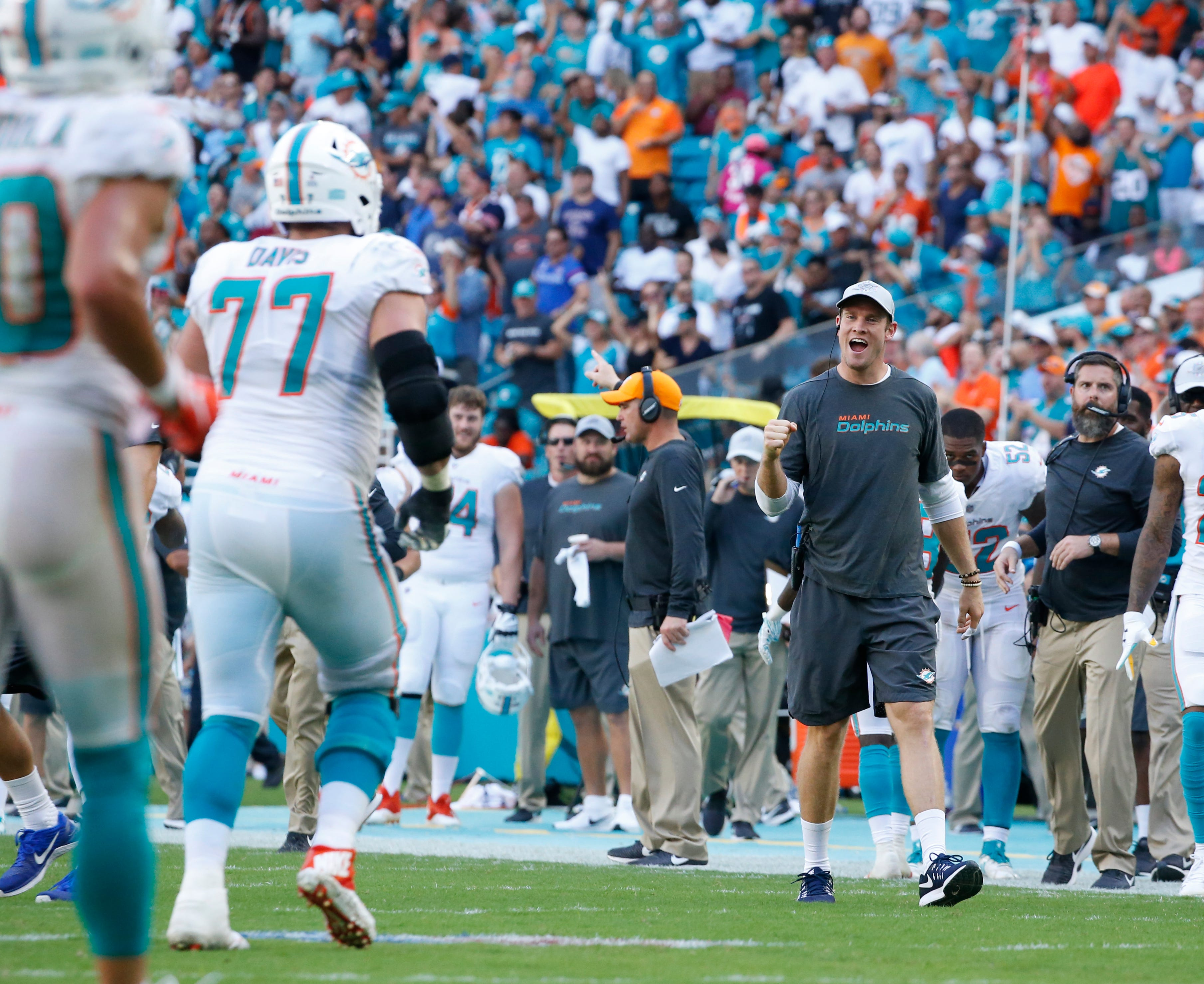 Dolphins at .500 as usual with faint playoff hopes