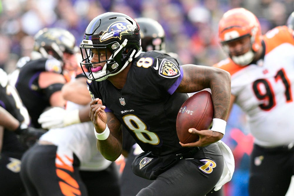4e2a824581c NFL Whip Around Week 11  Lamar Jackson s debut was fun but not sustainable