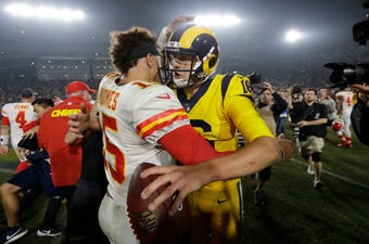 With the recent tragedies in southern California, the historic Rams-Chiefs shootout was much more than just the game of the year.