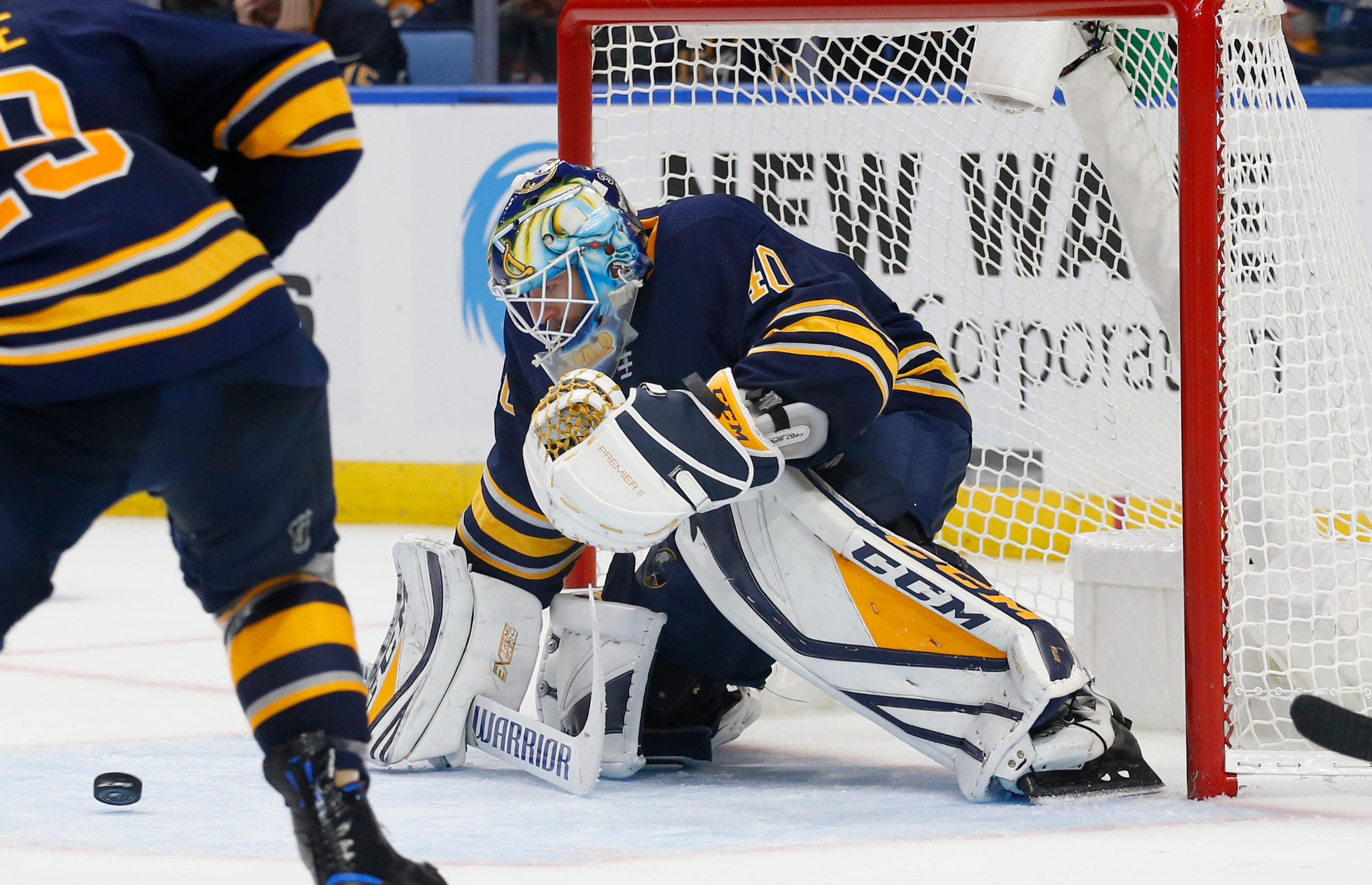 Sabres top Sharks 3-2 in OT, winning streak reaches 10 games