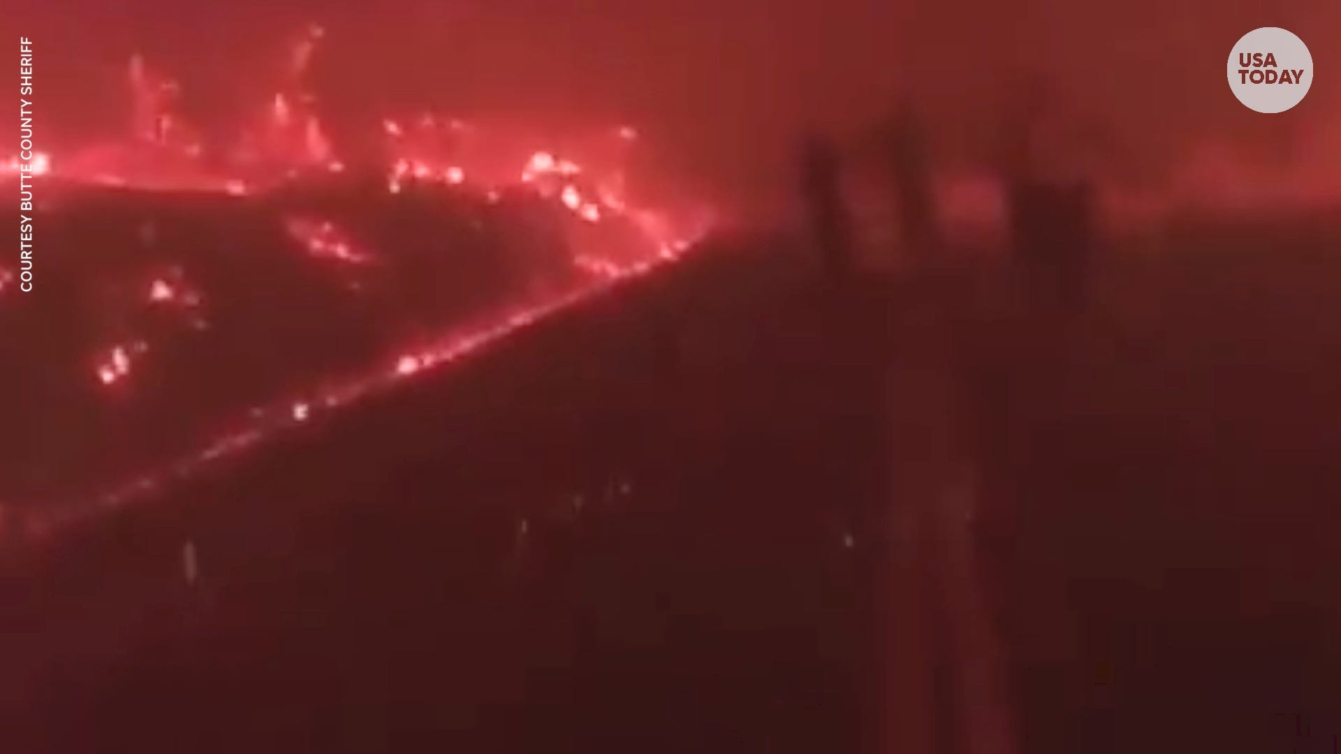 Butte County Sheriff deputy's body cam footage shows apocalyptic Camp Fire