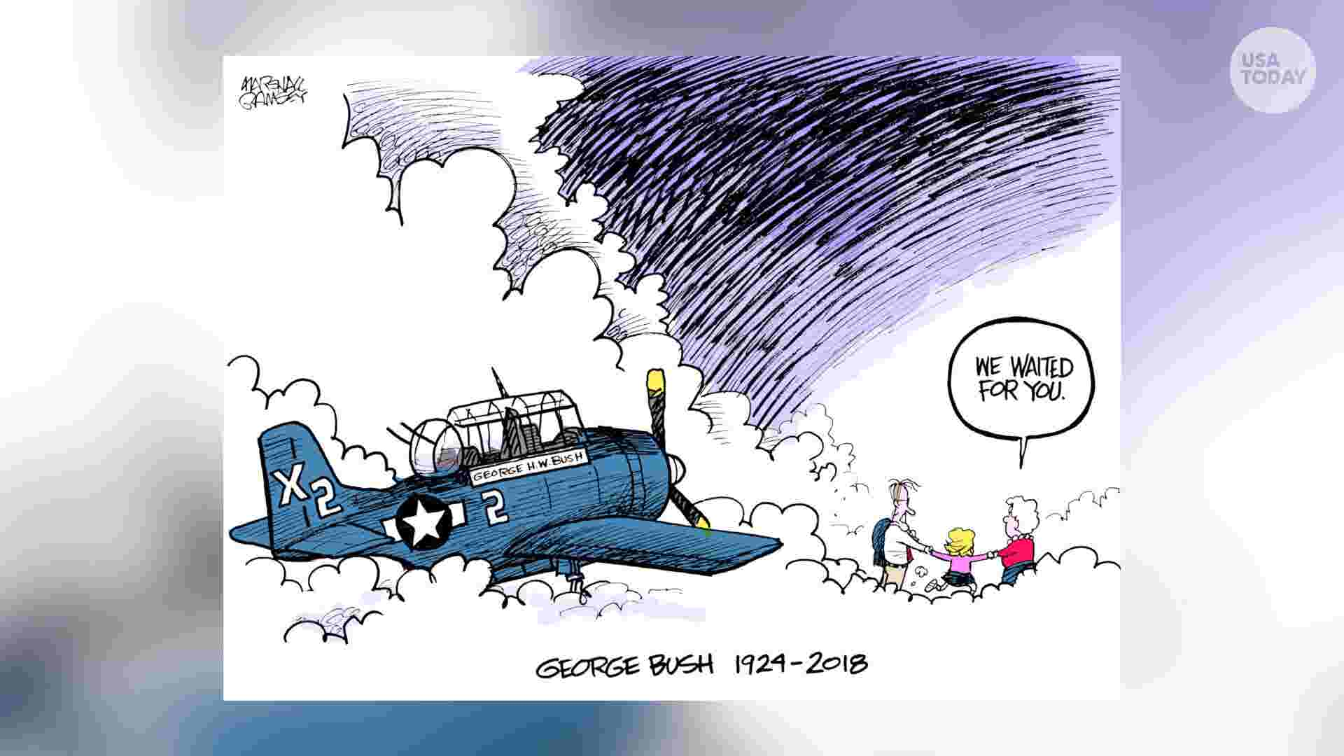 George Hw Bush Loss Of Daughter Robin Would Thread Through His Life