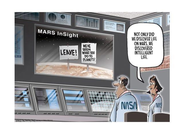 NASA's Mars discovery