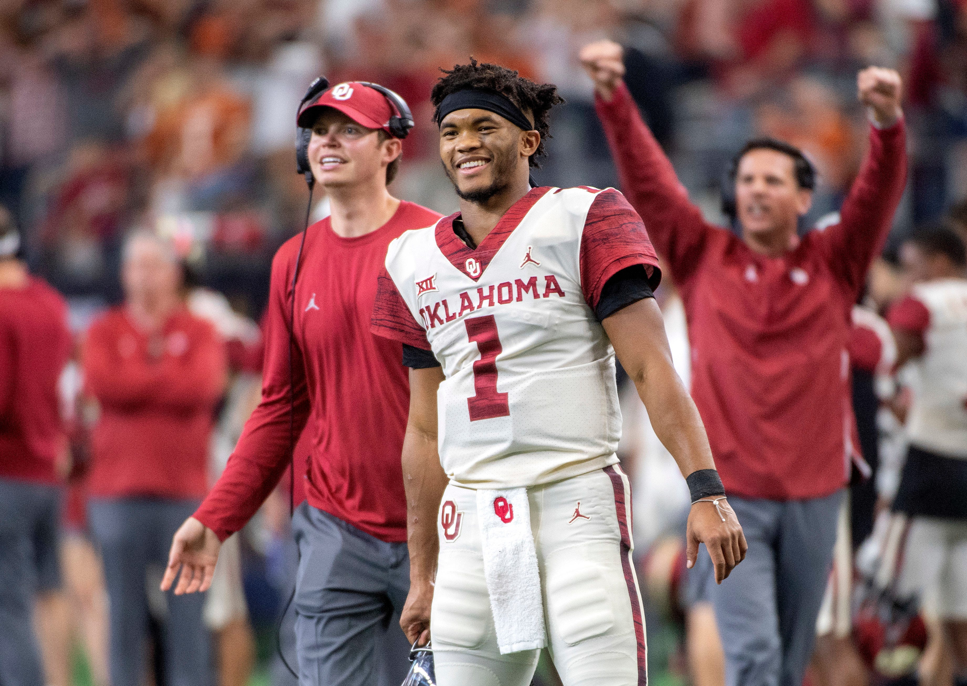 Oklahoma QB Kyler Murray is named the AP Player of the Year